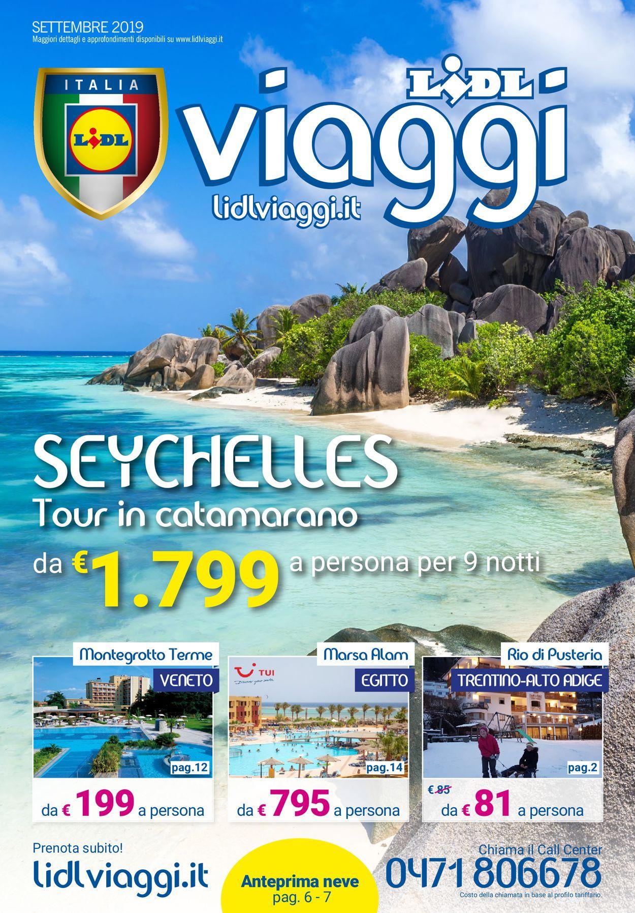 Volantino Lidl - Offerte 02/09-30/09/2019