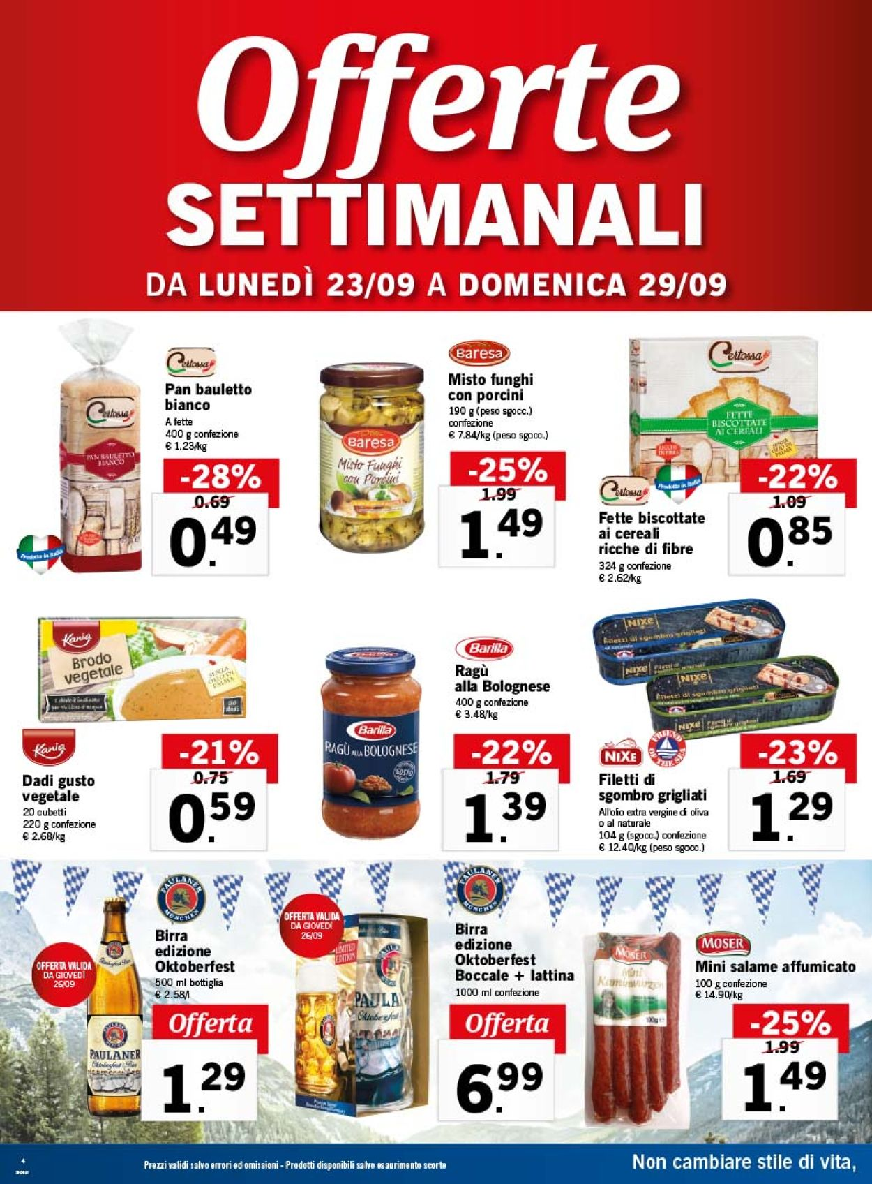 Volantino Lidl - Offerte 23/09-29/09/2019 (Pagina 4)