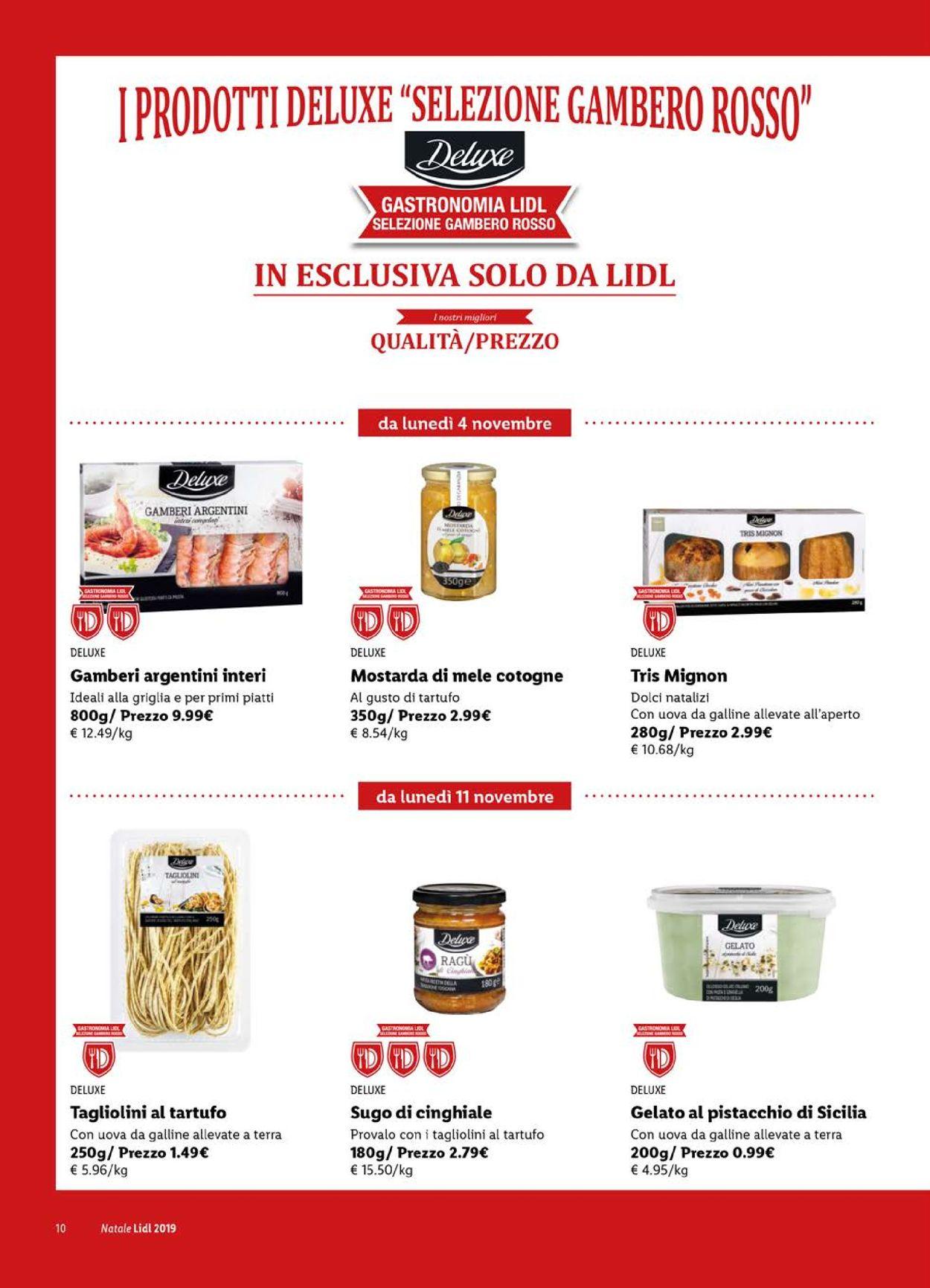 Volantino Il volantino natalizio di Lidl - Offerte 28/10-24/12/2019 (Pagina 10)