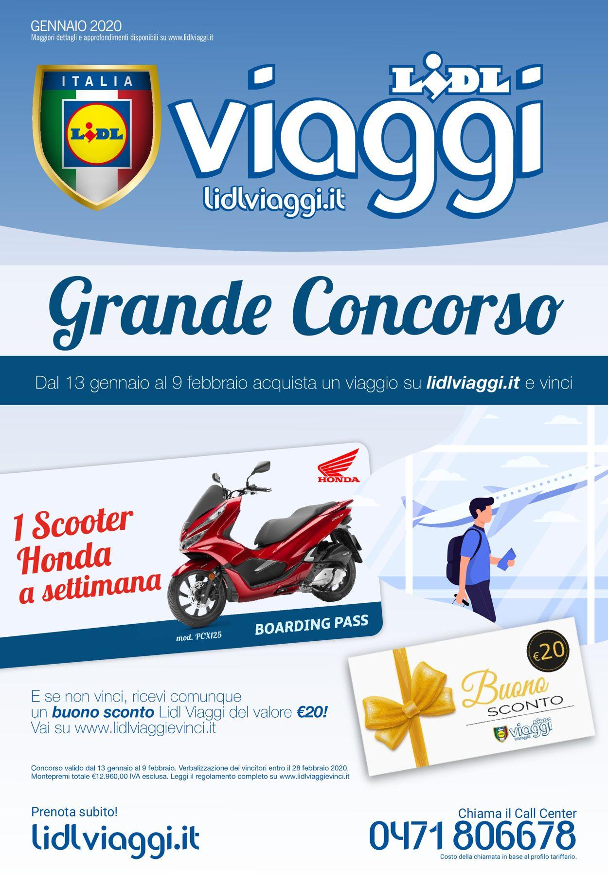 Volantino Lidl - Offerte 13/01-09/02/2020
