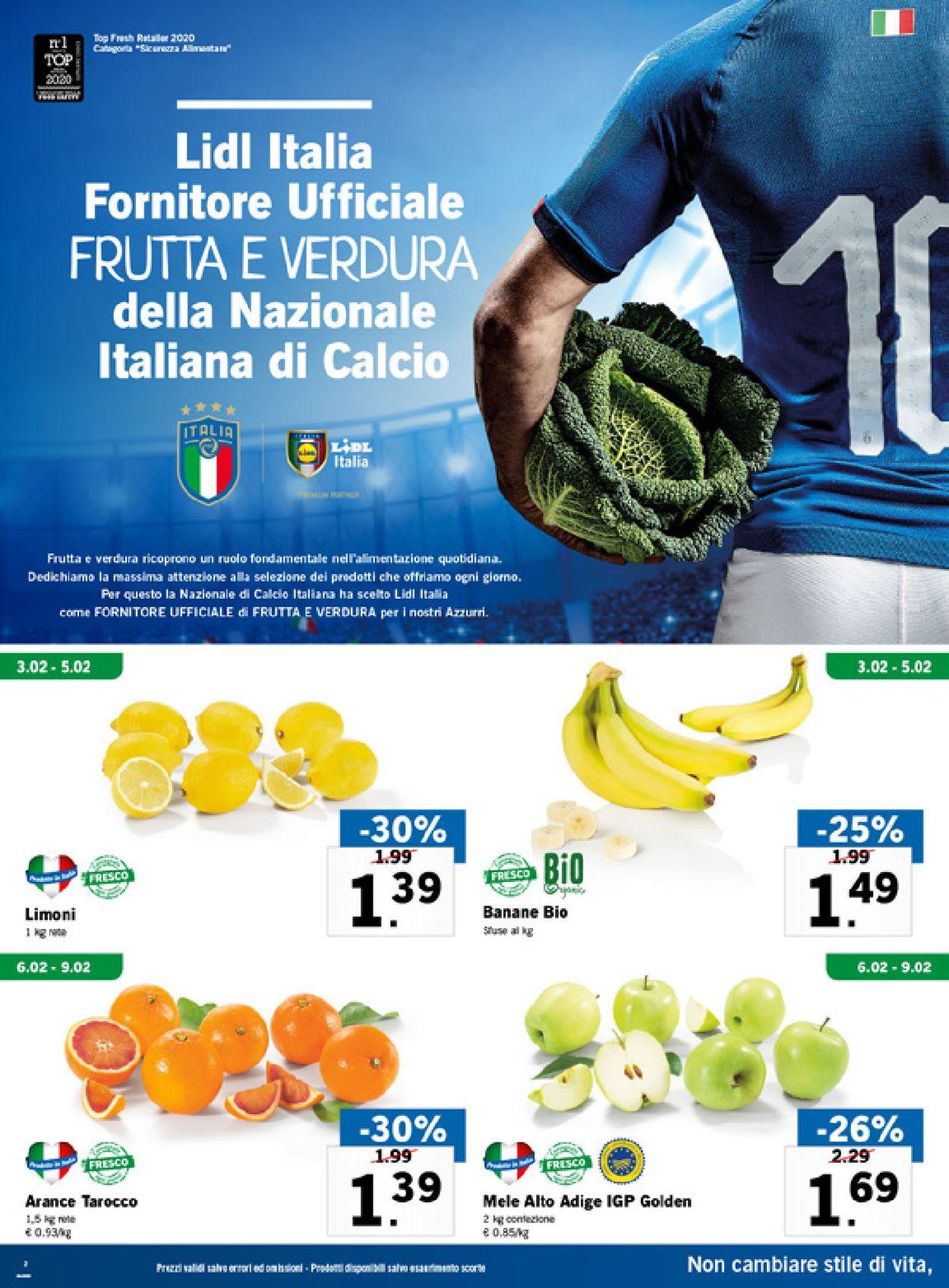 Volantino Lidl - Offerte 03/02-09/02/2020 (Pagina 2)