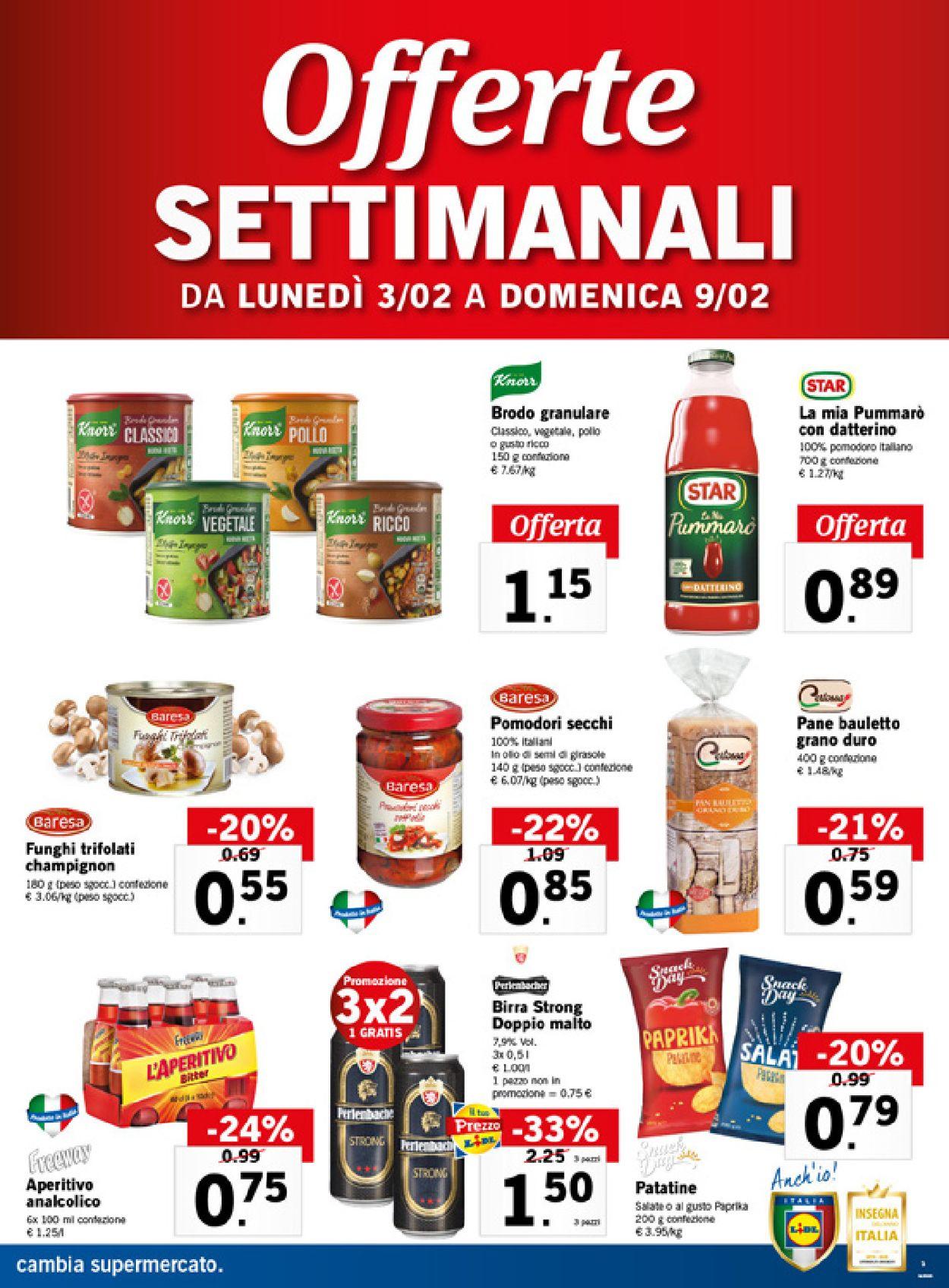 Volantino Lidl - Offerte 03/02-09/02/2020 (Pagina 3)