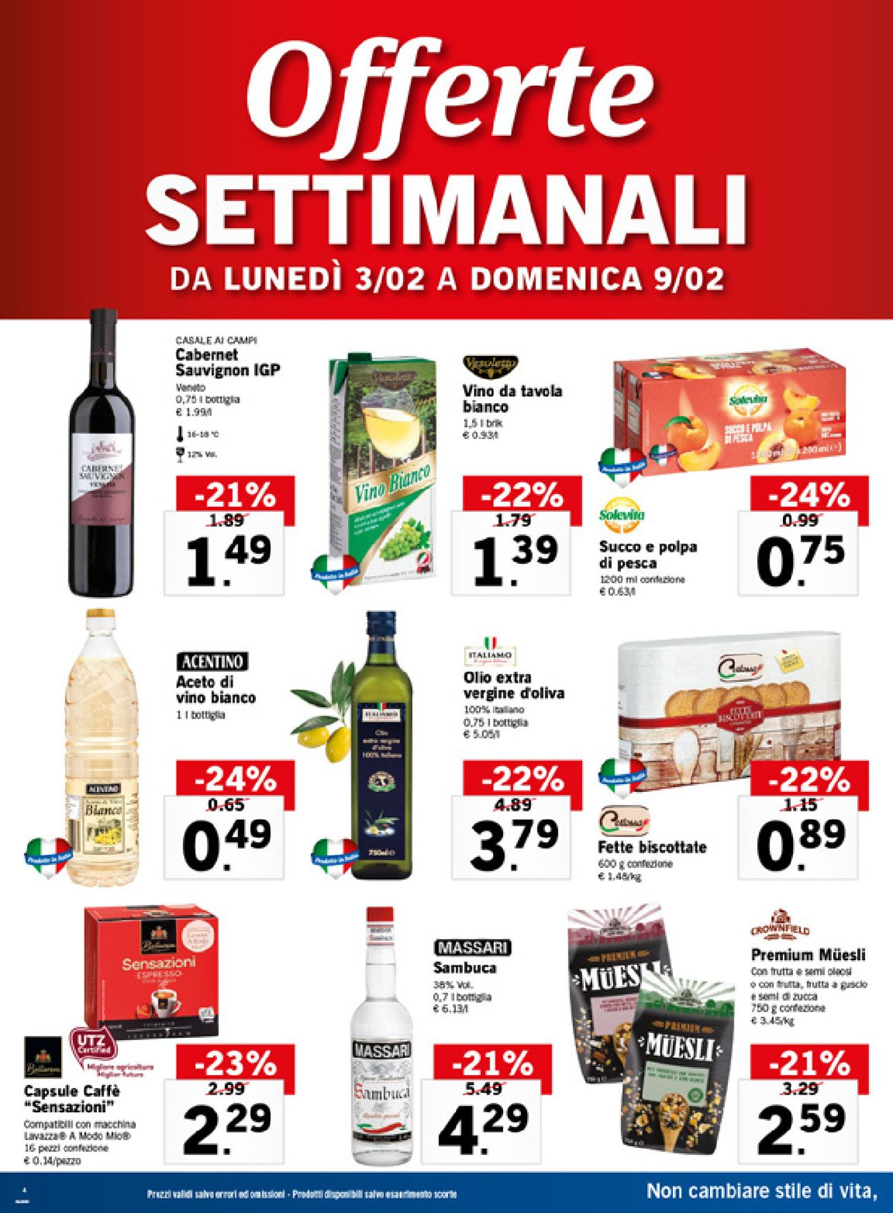 Volantino Lidl - Offerte 03/02-09/02/2020 (Pagina 4)