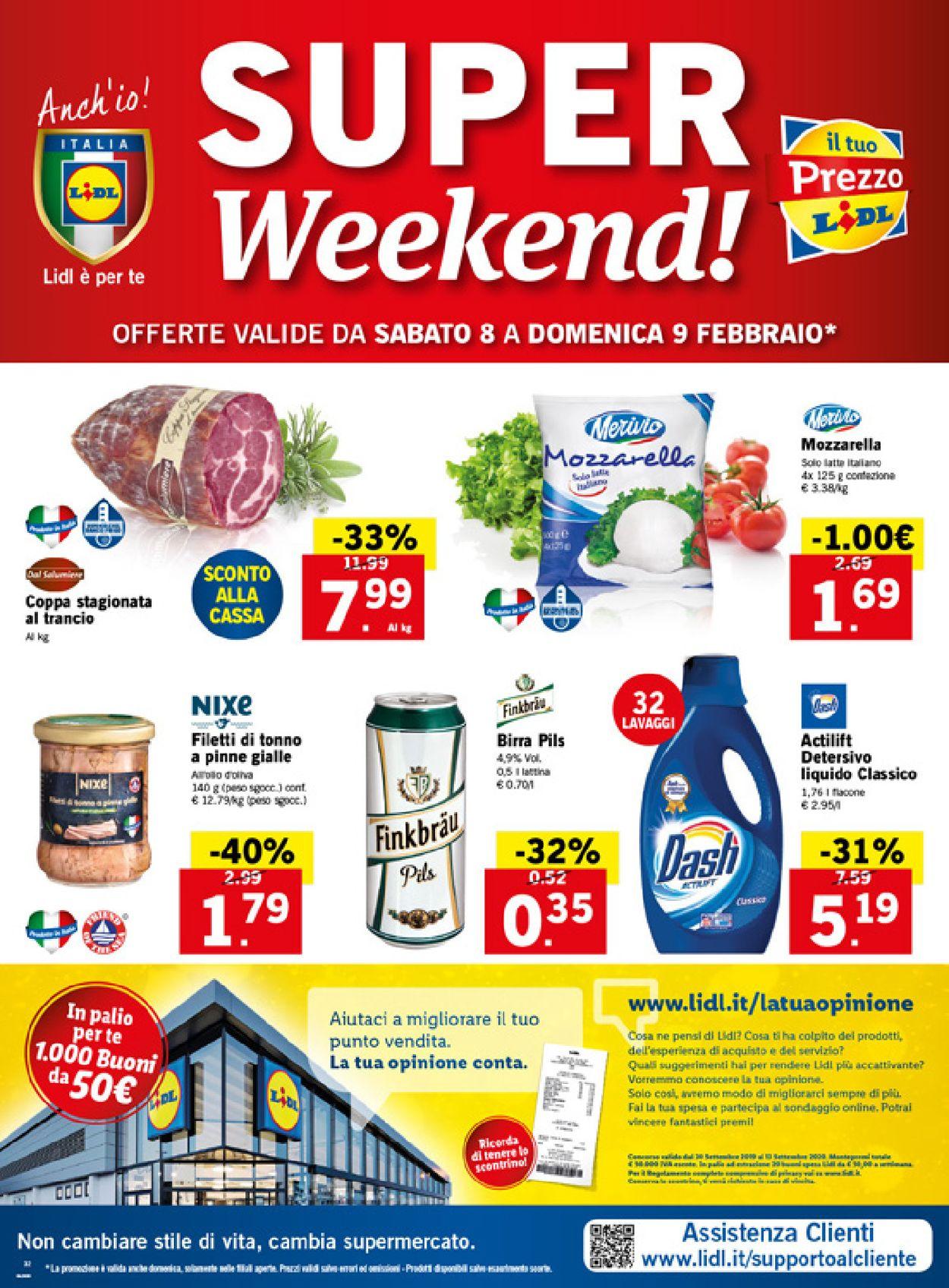 Volantino Lidl - Offerte 03/02-09/02/2020 (Pagina 32)