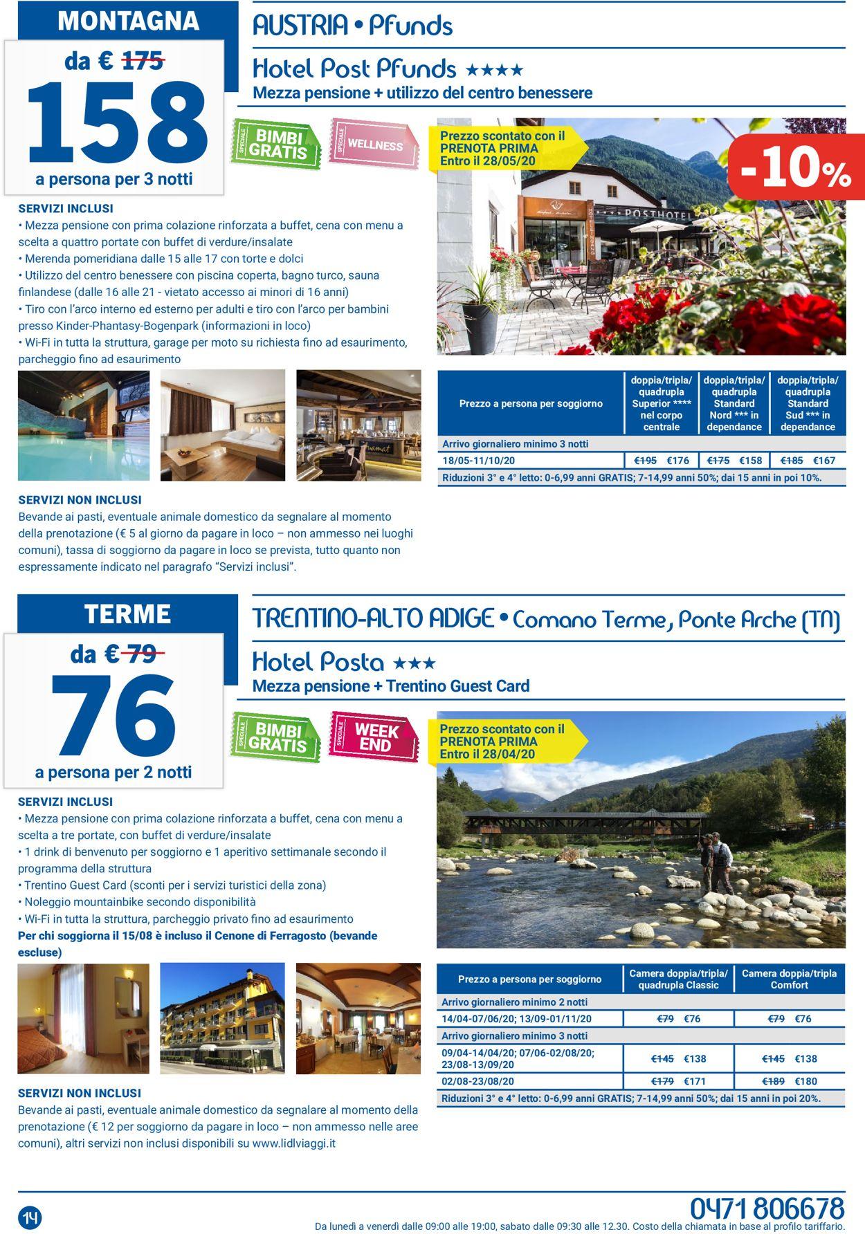 Volantino Lidl - Offerte 02/02-29/02/2020 (Pagina 14)