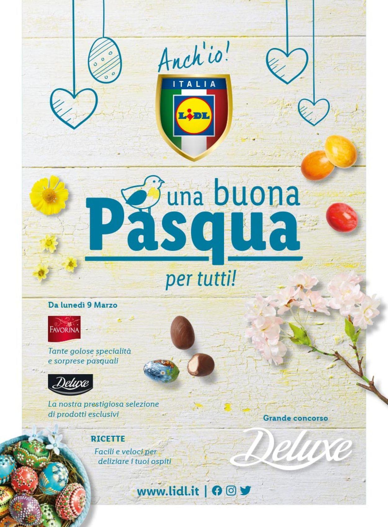 Volantino Lidl - Offerte 09/03-18/04/2020
