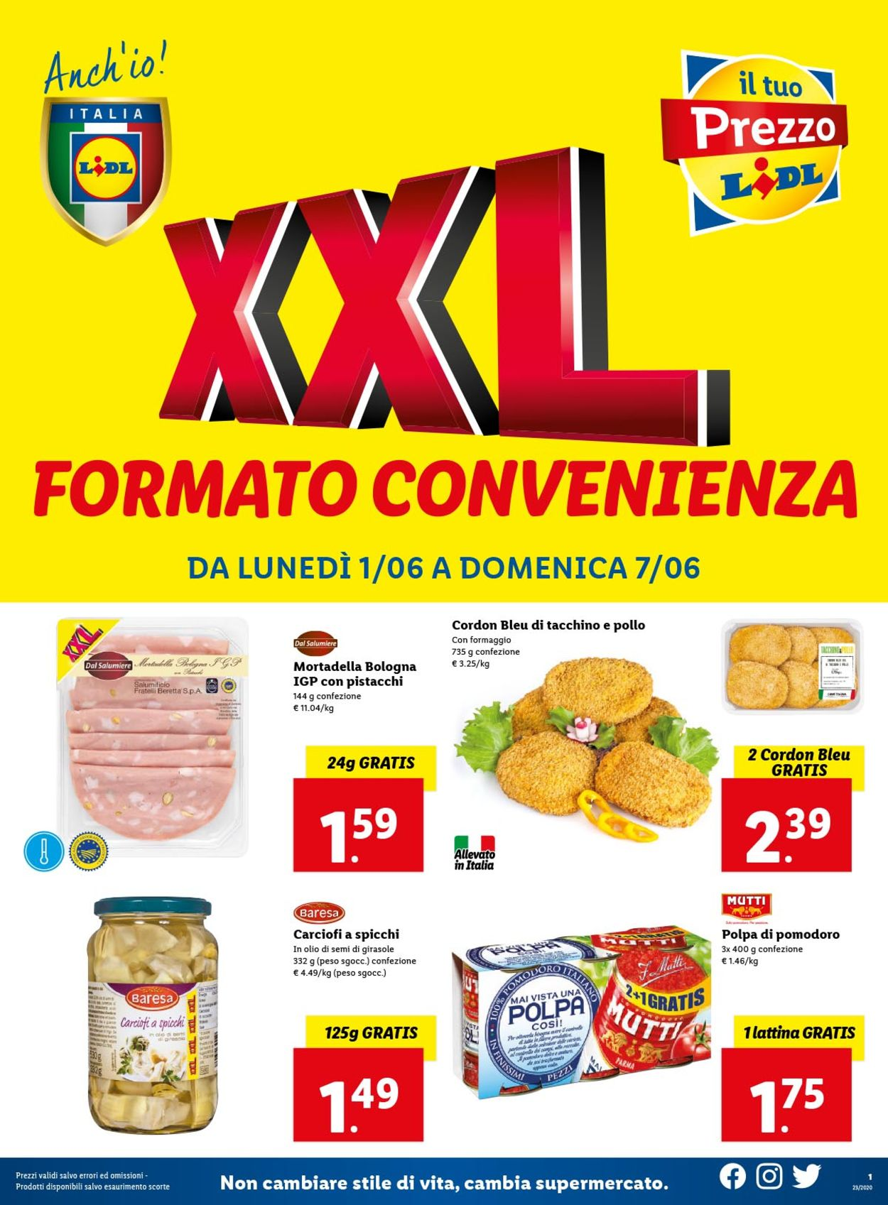 Volantino Lidl - Offerte 01/06-07/06/2020