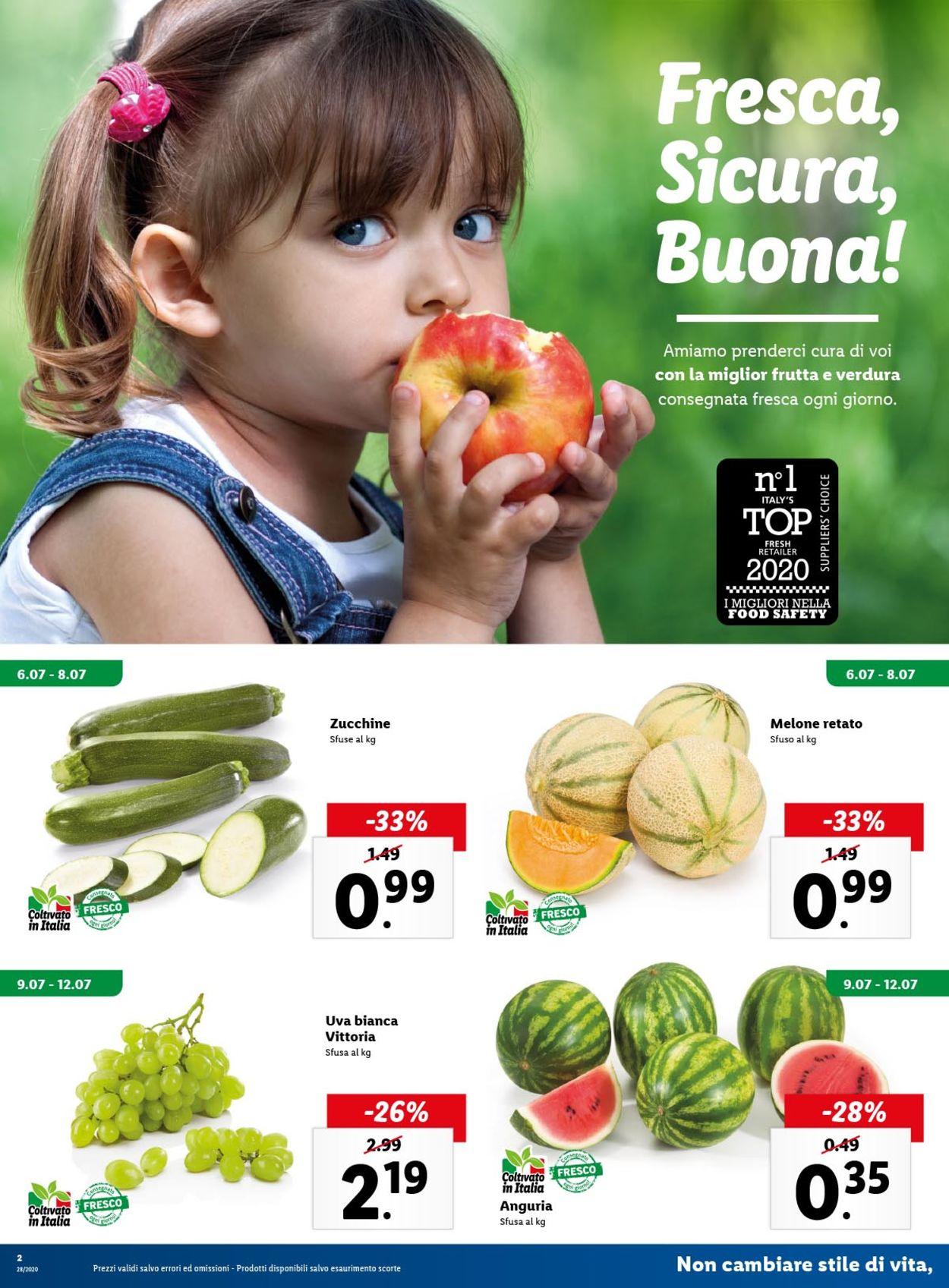 Volantino Lidl - Offerte 06/07-12/07/2020 (Pagina 2)