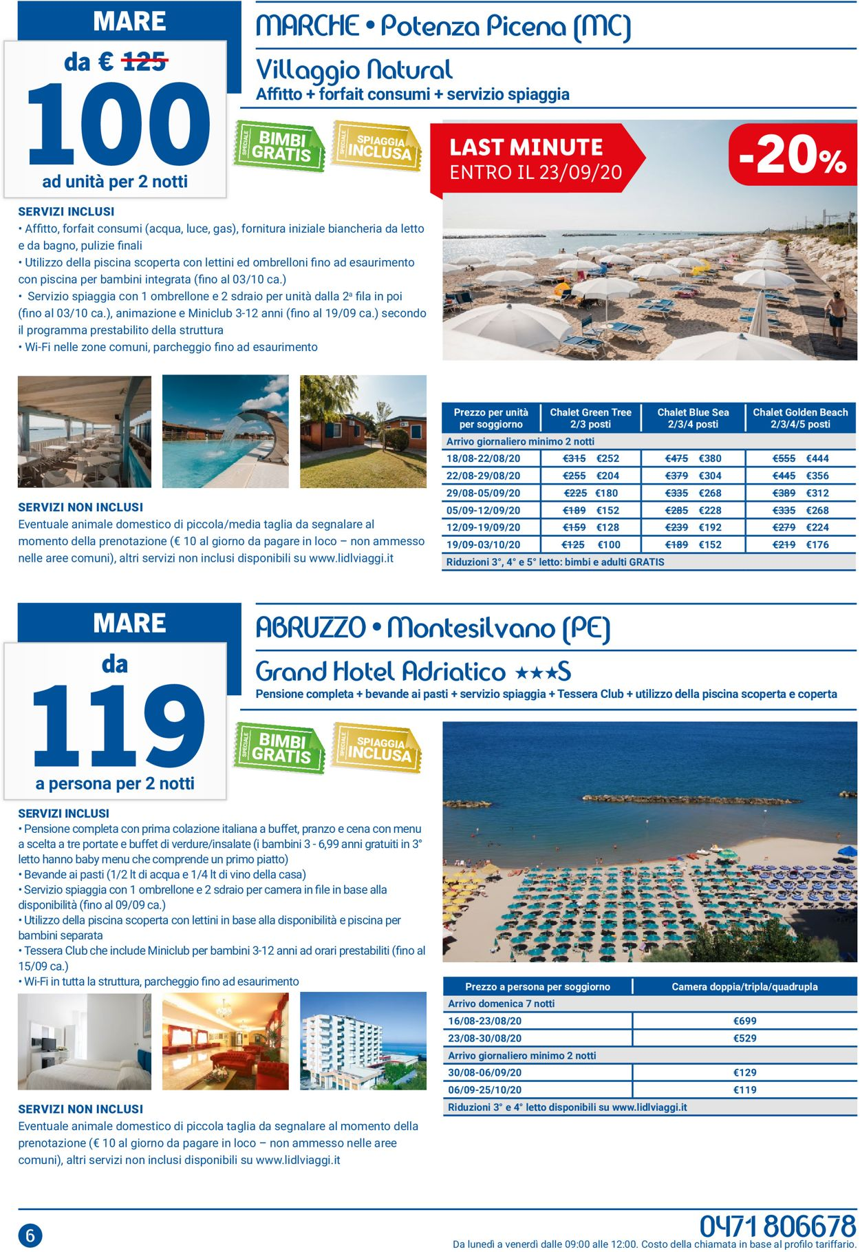 Volantino Lidl - Offerte 01/08-31/08/2020 (Pagina 6)