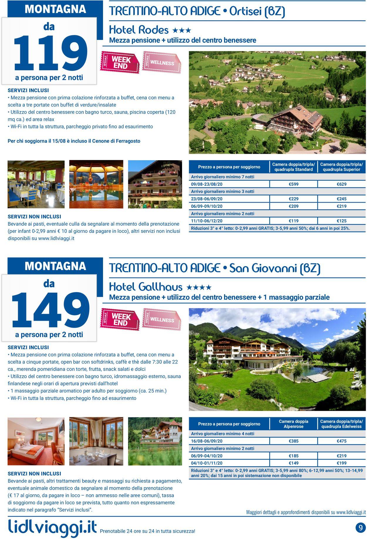 Volantino Lidl - Offerte 01/08-31/08/2020 (Pagina 9)