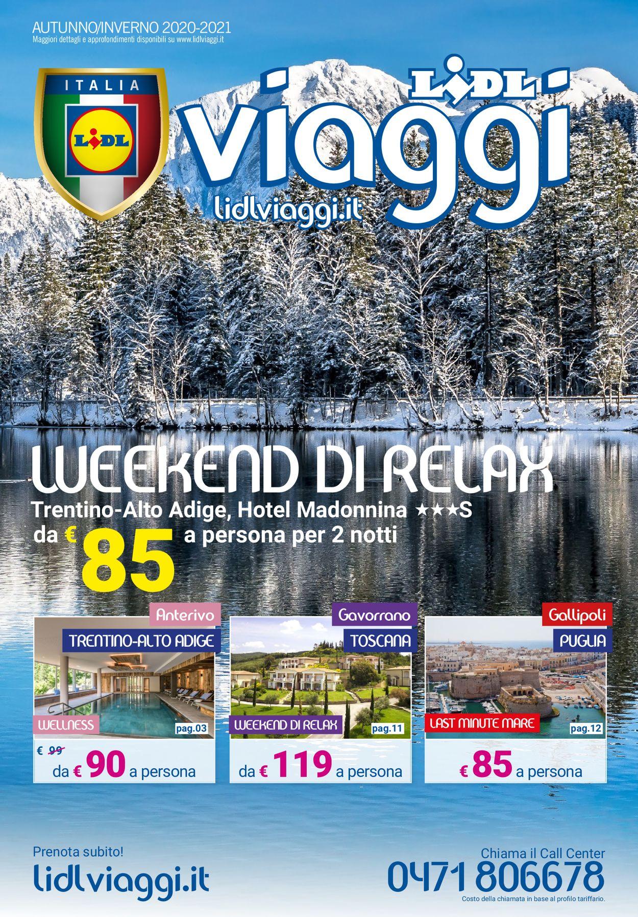 Volantino Lidl - Offerte 03/09-28/02/2021
