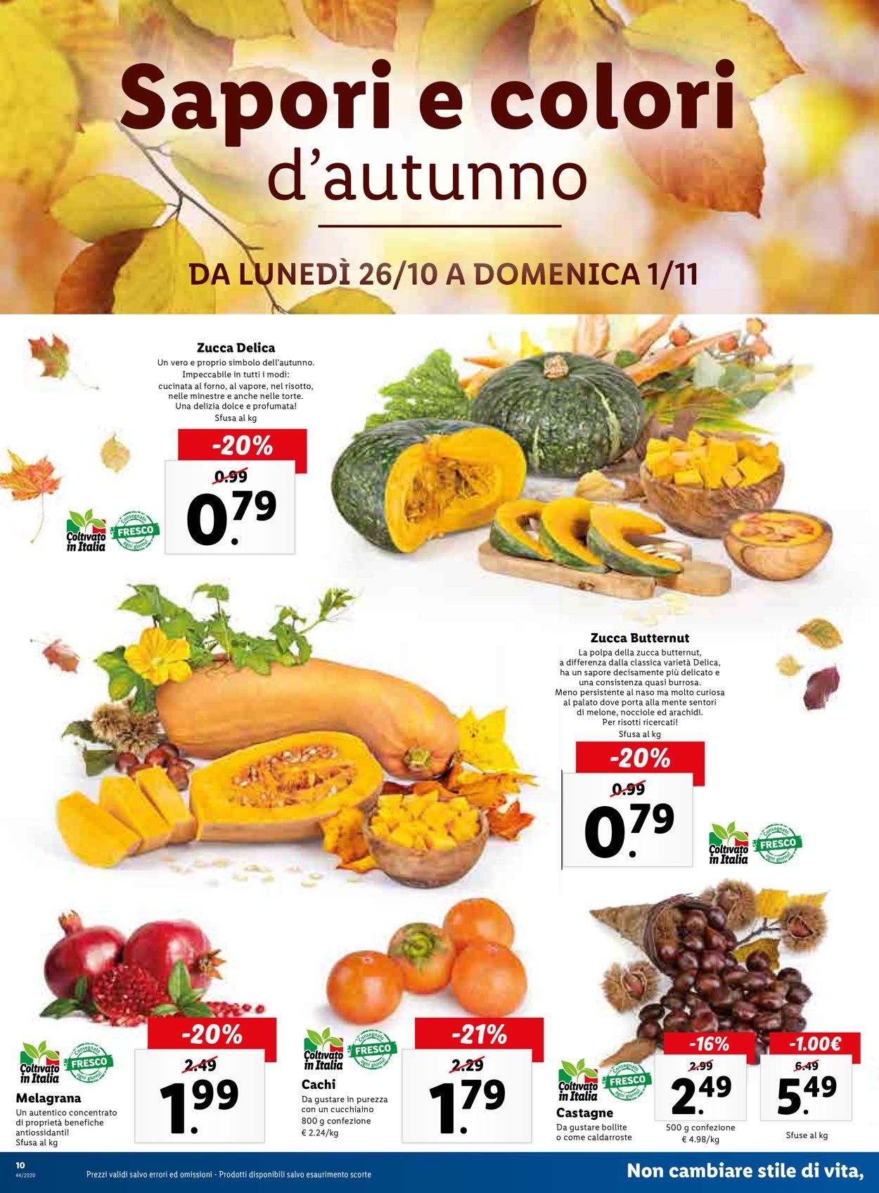 Volantino Lidl - Offerte 26/10-01/11/2020 (Pagina 10)