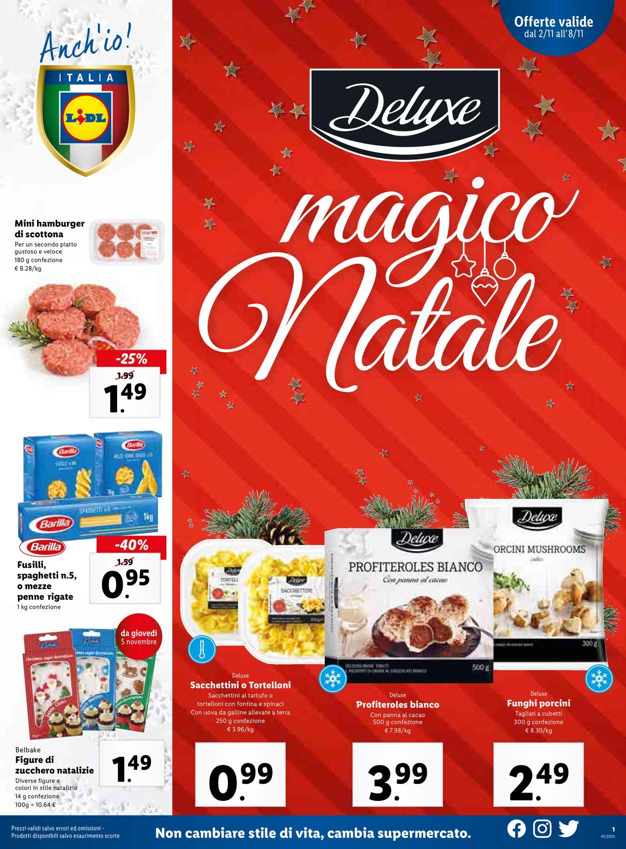 Volantino Lidl - Offerte 02/11-08/11/2020