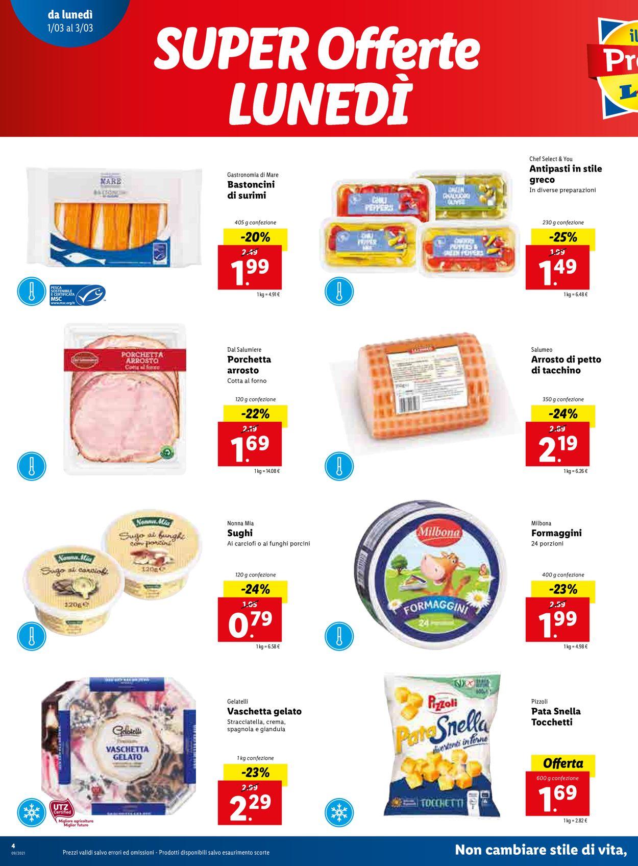 Volantino Lidl - Offerte 01/03-07/03/2021 (Pagina 4)