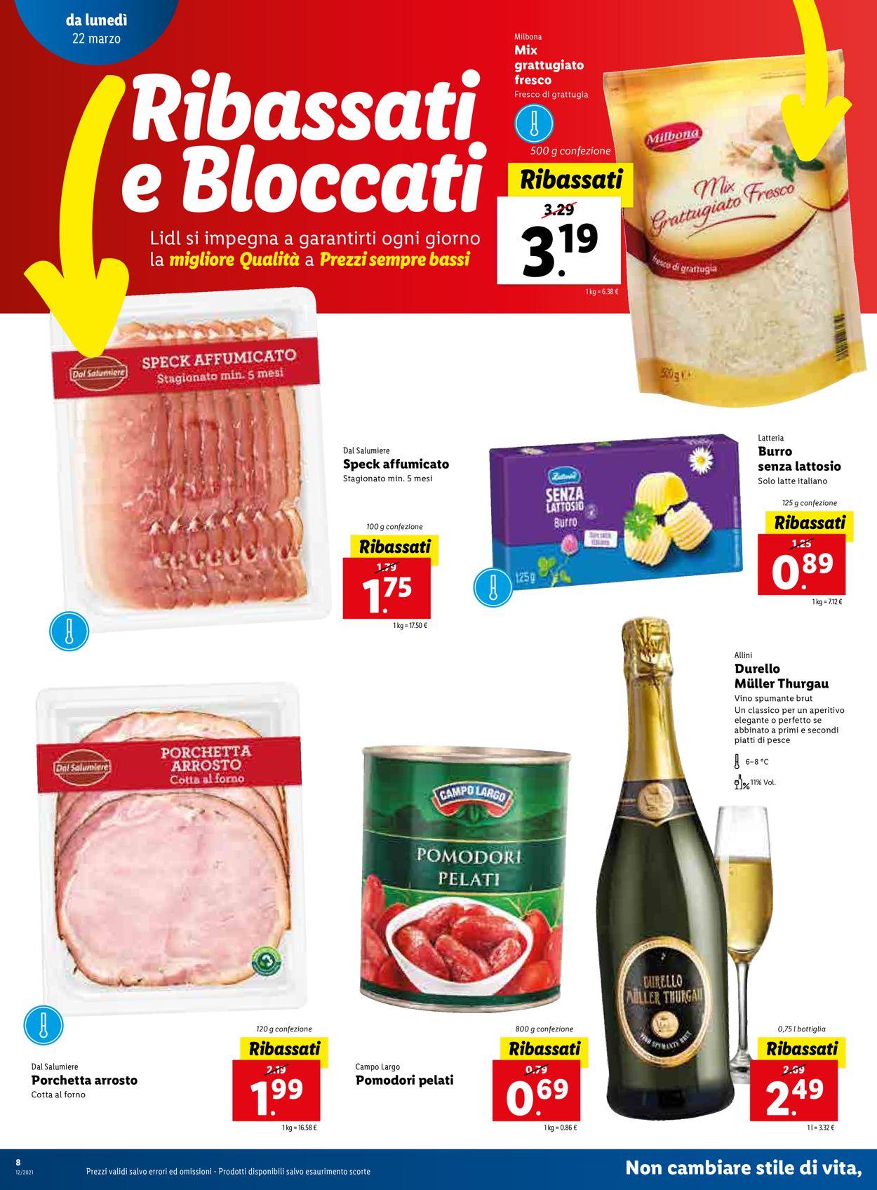 Volantino Lidl - Pasqua 2021! - Offerte 22/03-28/03/2021 (Pagina 8)