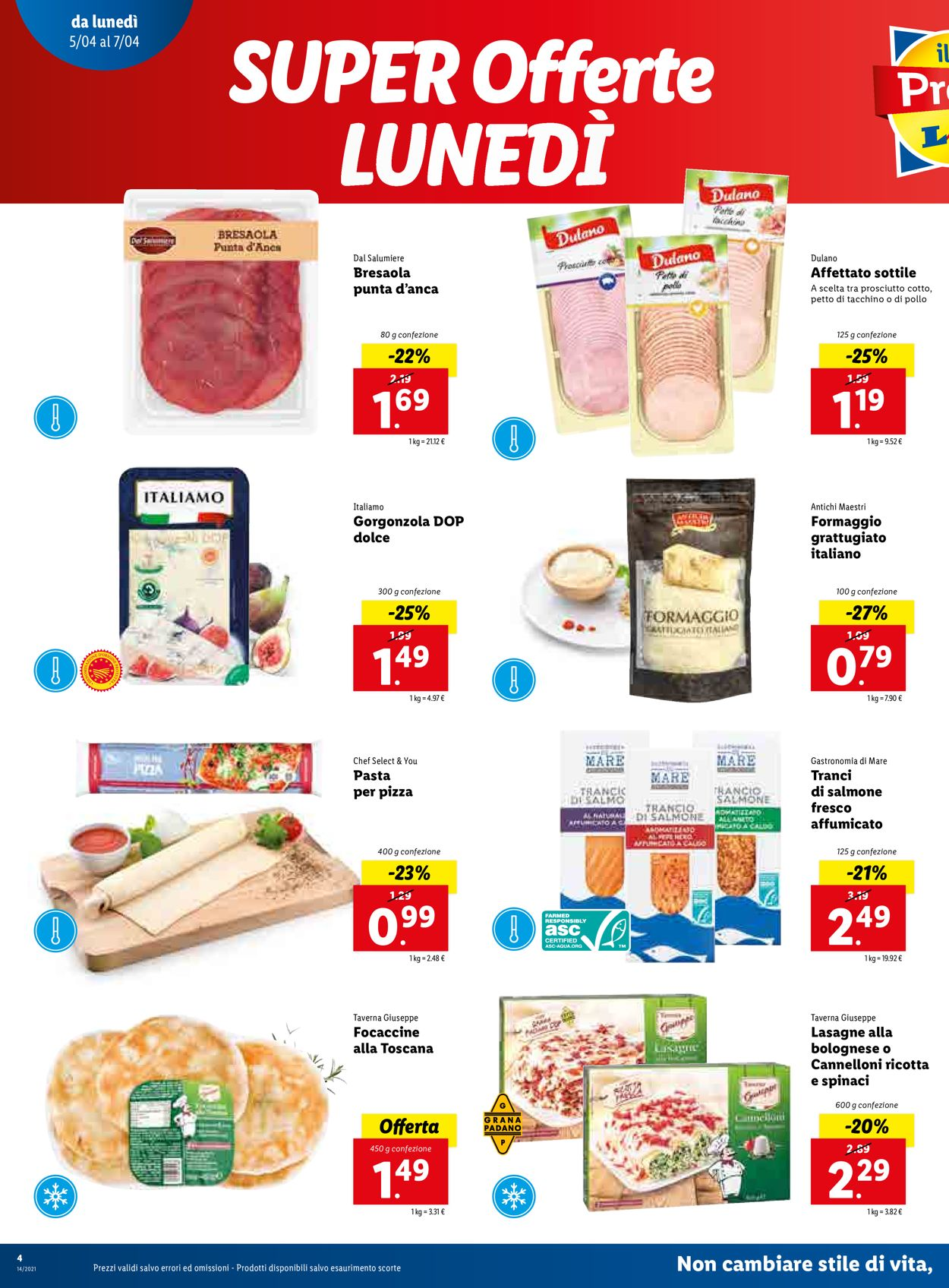 Volantino Lidl - Offerte 05/04-11/04/2021 (Pagina 4)