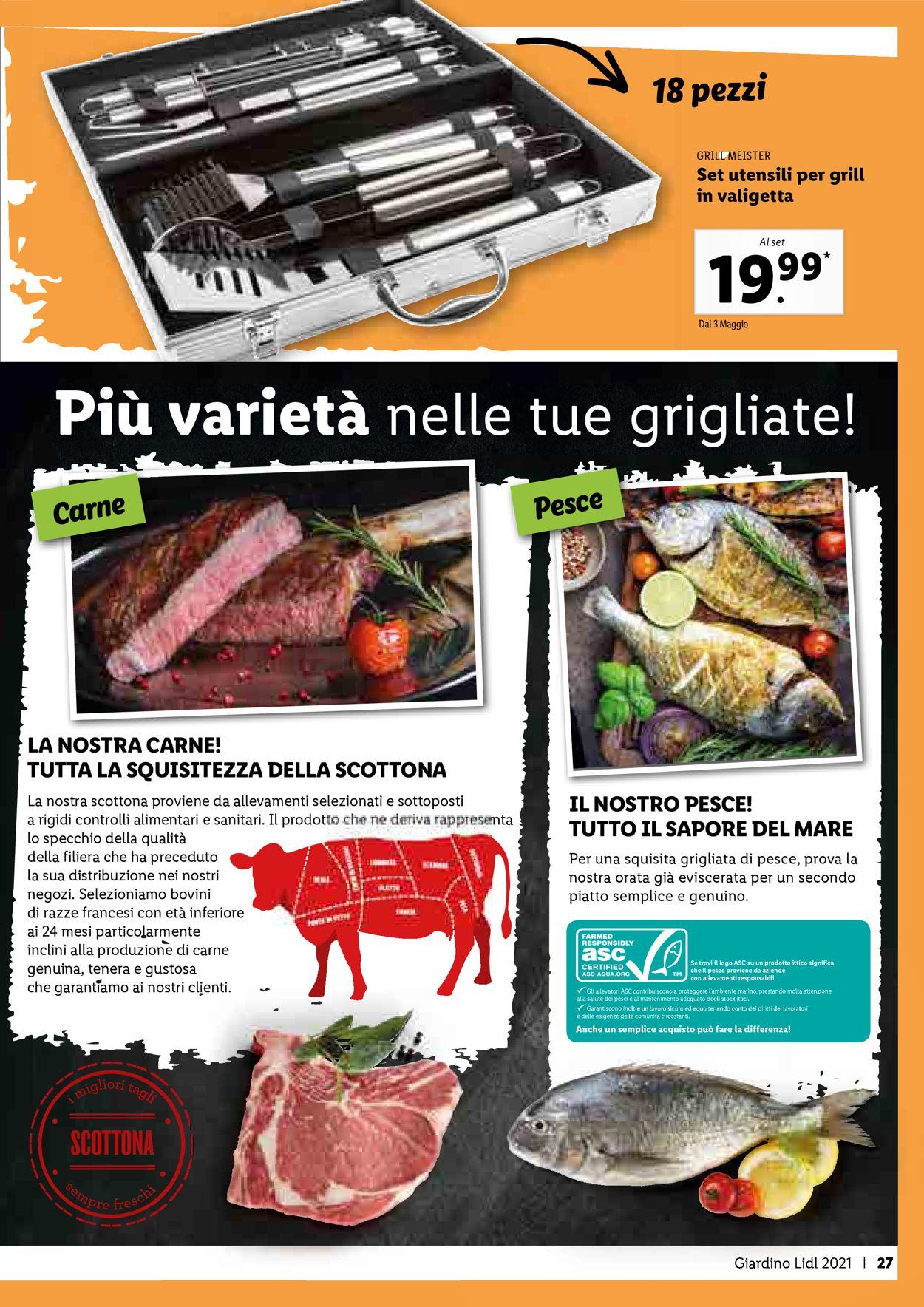 Volantino Lidl - Offerte 08/04-20/06/2021 (Pagina 27)