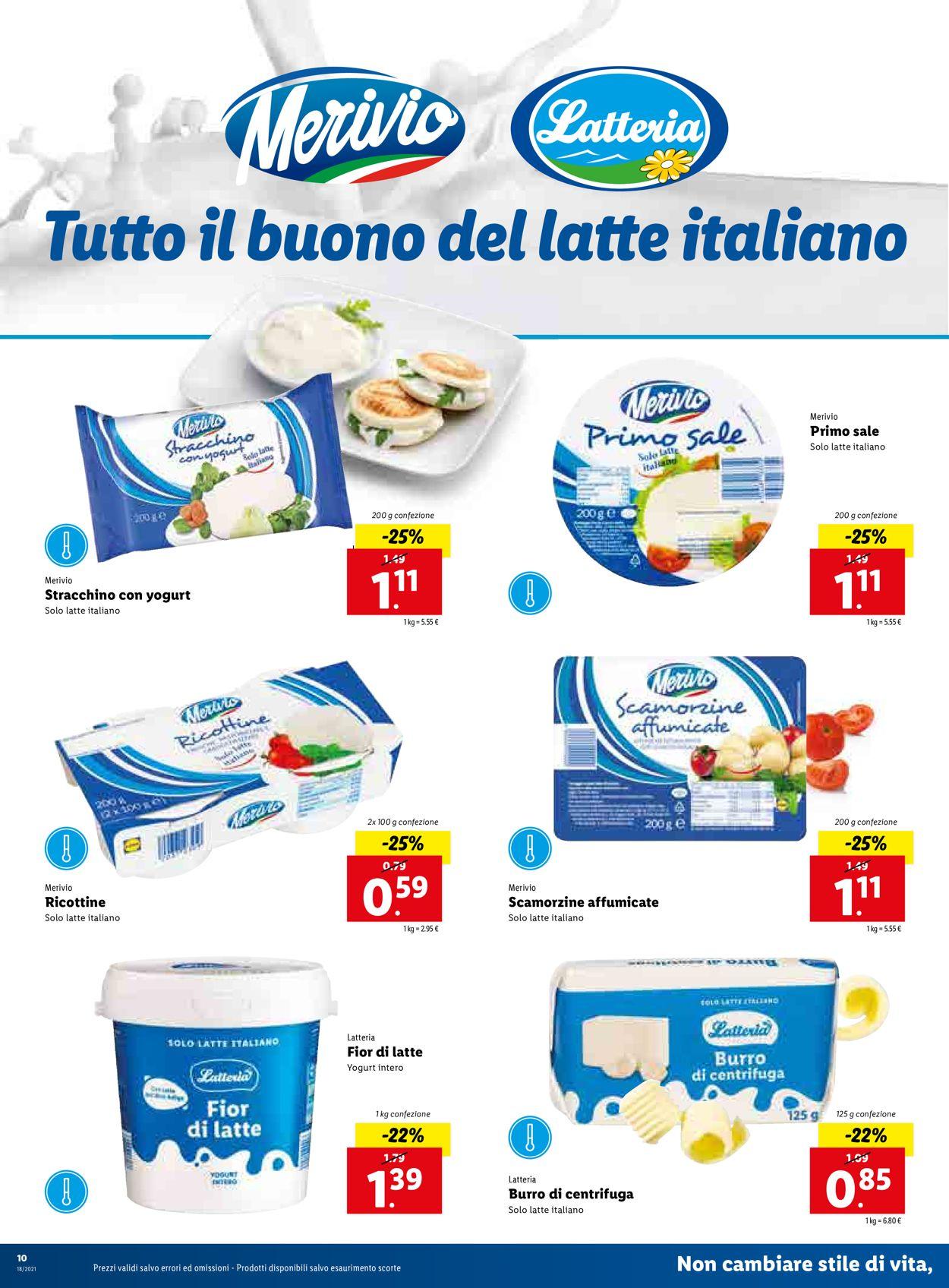 Volantino Lidl - Offerte 03/05-09/05/2021 (Pagina 10)