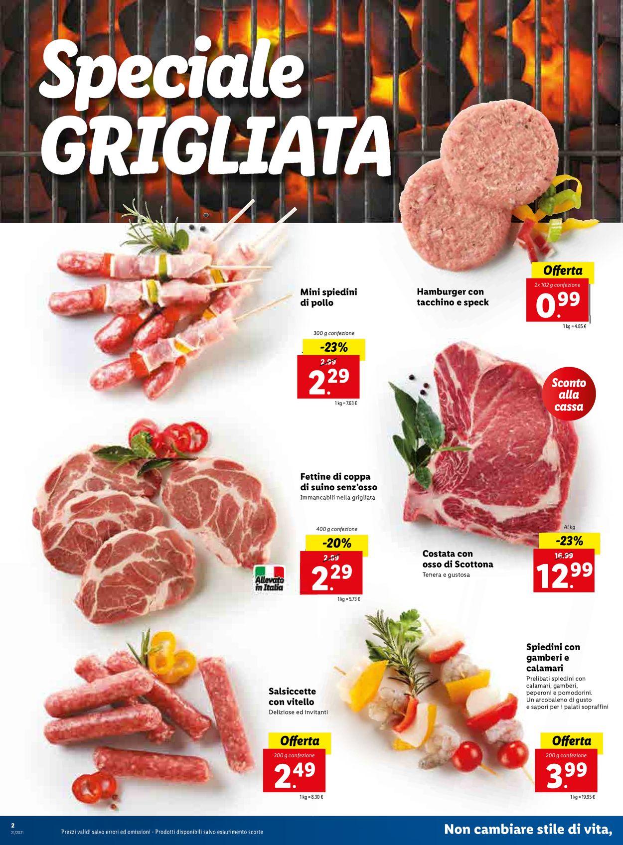 Volantino Lidl - Offerte 24/05-30/05/2021 (Pagina 2)