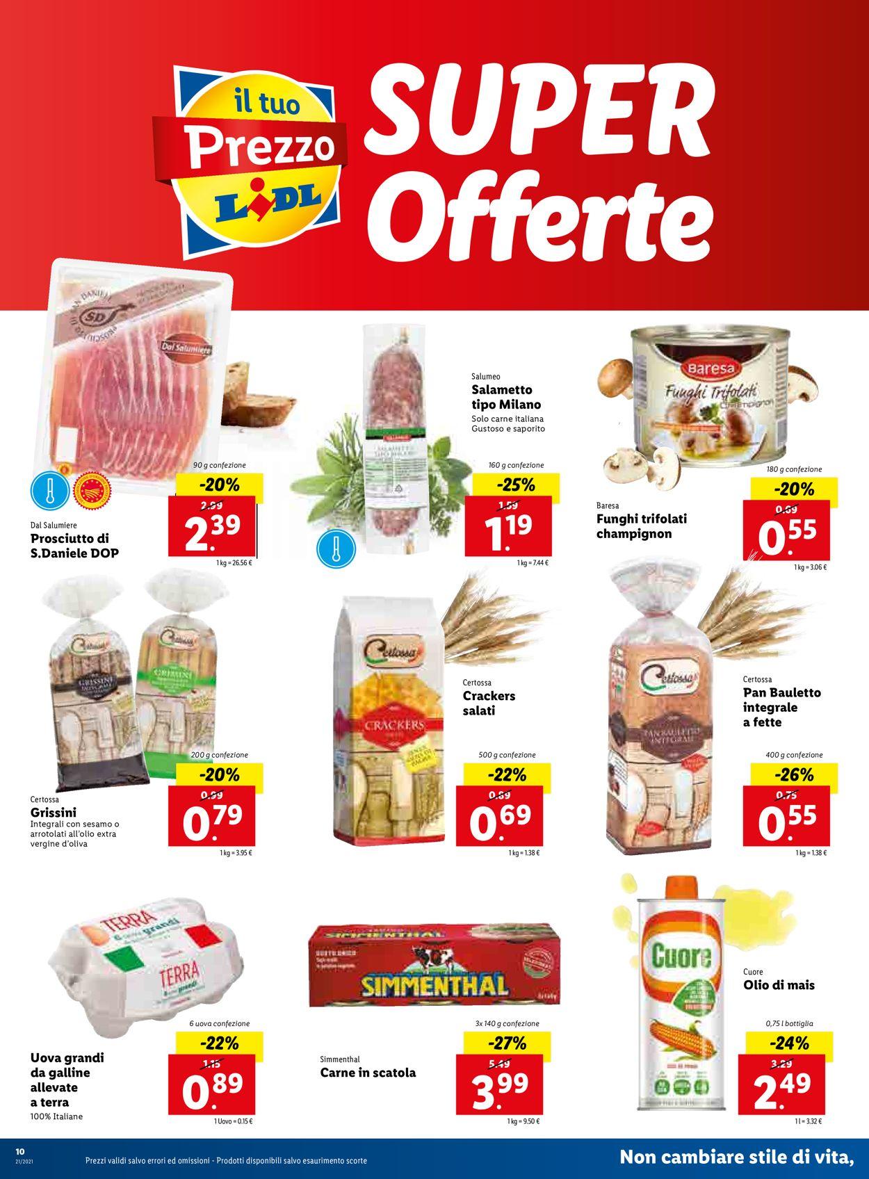 Volantino Lidl - Offerte 24/05-30/05/2021 (Pagina 10)