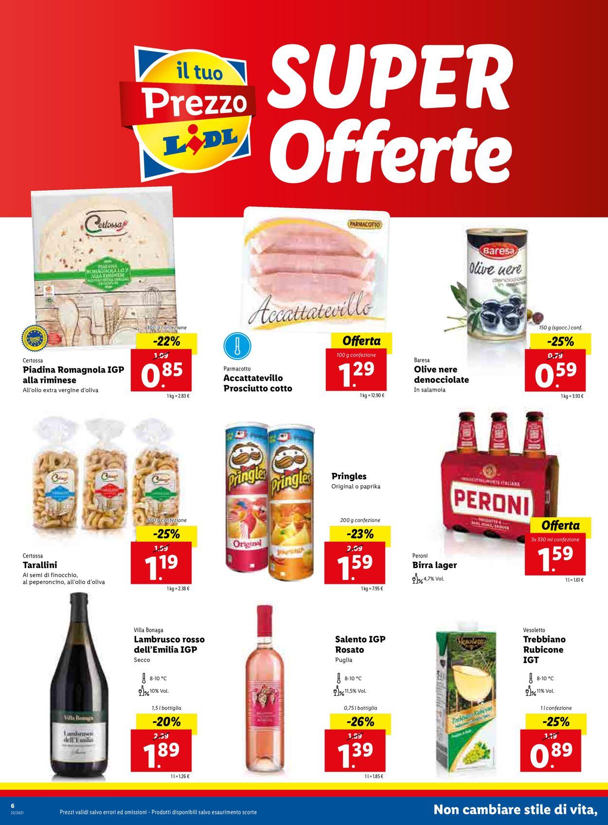 Volantino Lidl - Offerte 07/06-13/06/2021 (Pagina 6)