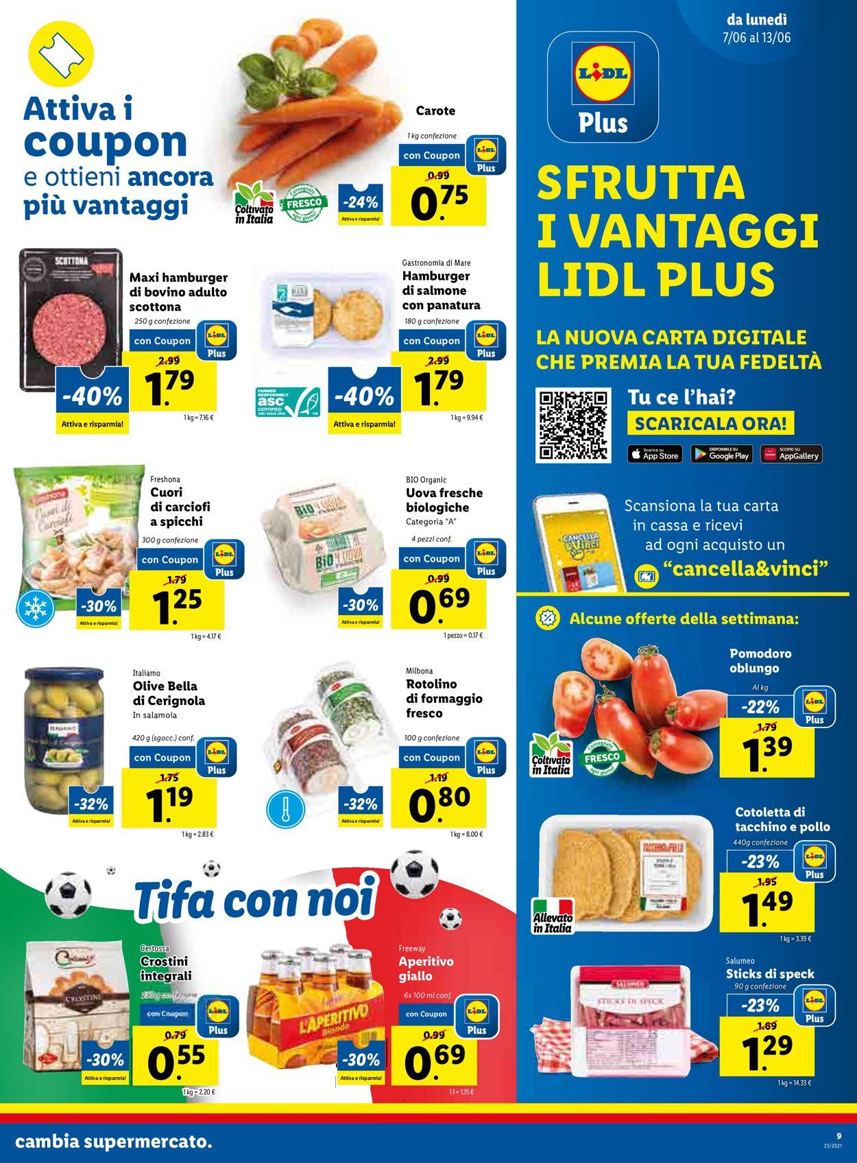 Volantino Lidl - Offerte 07/06-13/06/2021 (Pagina 9)