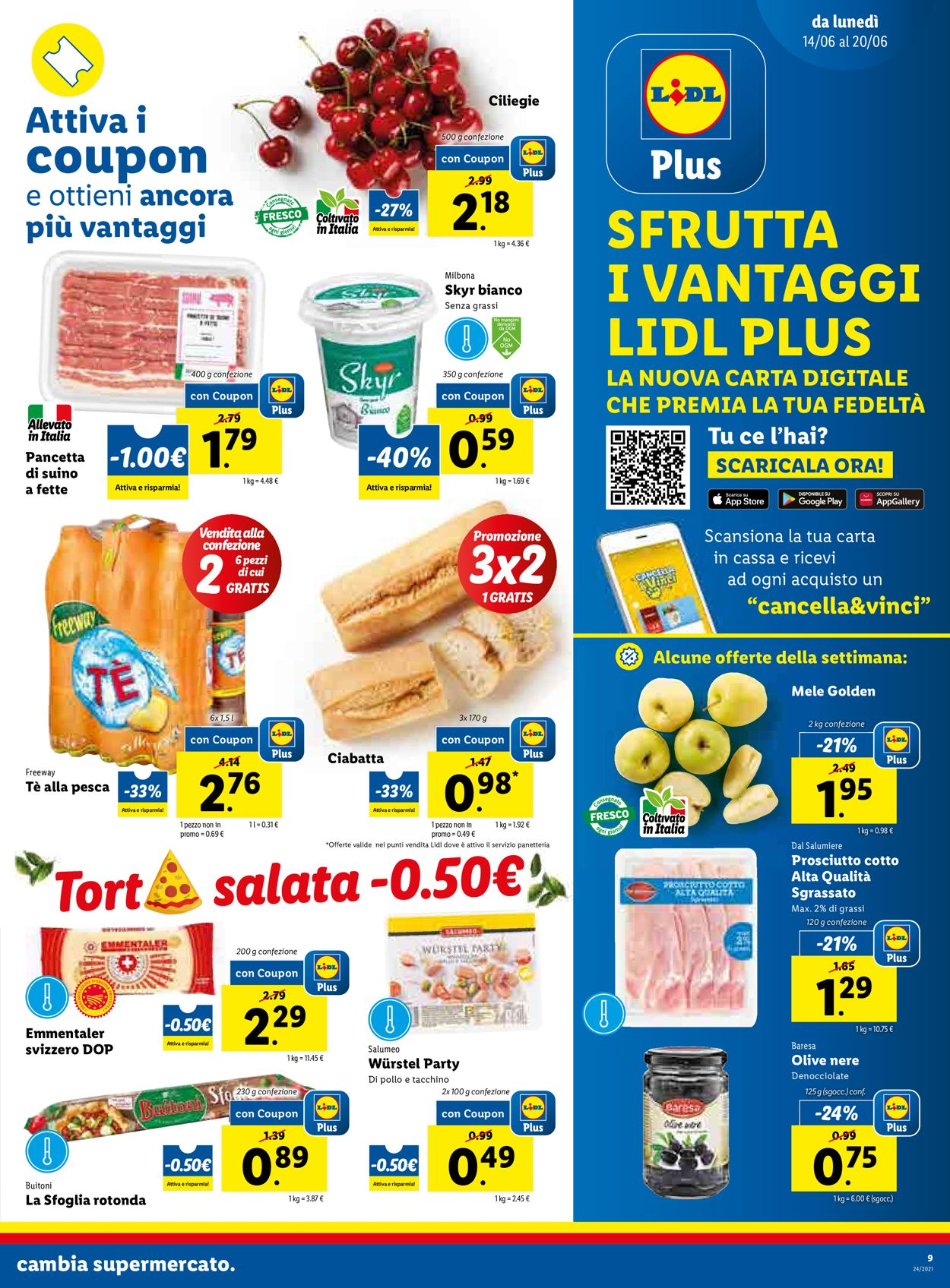 Volantino Lidl - Offerte 14/06-20/06/2021 (Pagina 9)