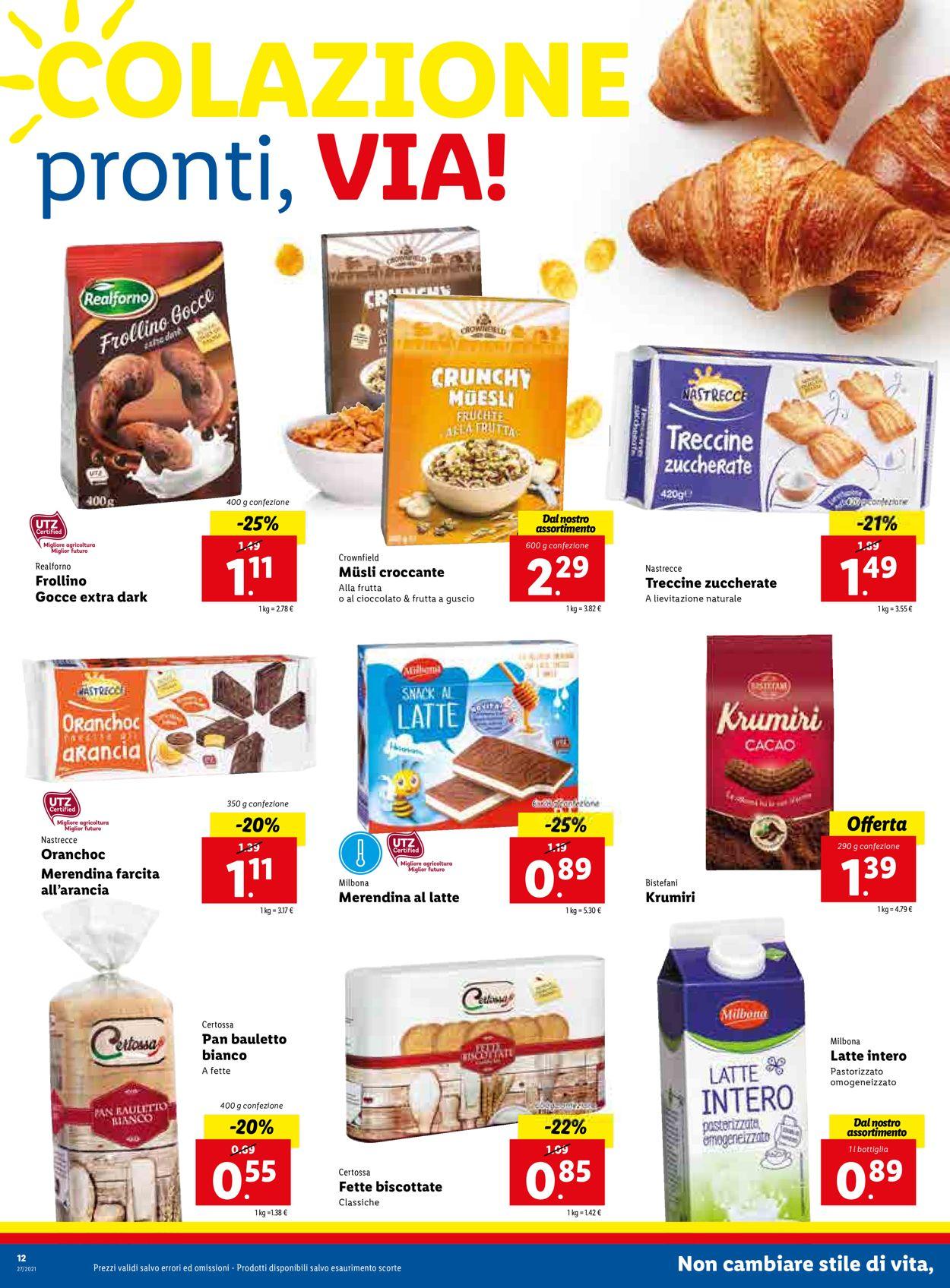 Volantino Lidl - Offerte 05/07-11/07/2021 (Pagina 12)