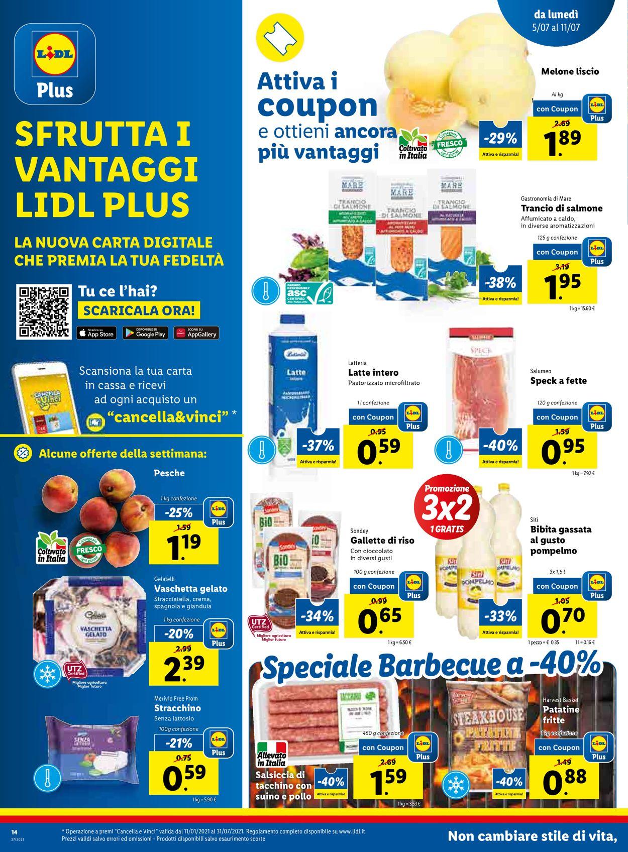 Volantino Lidl - Offerte 05/07-11/07/2021 (Pagina 14)