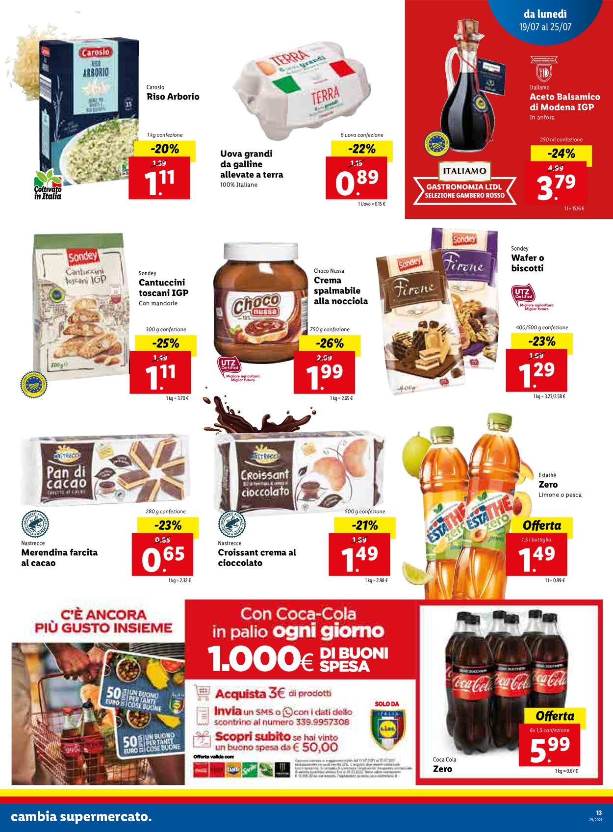 Volantino Lidl - Offerte 19/07-25/07/2021 (Pagina 13)