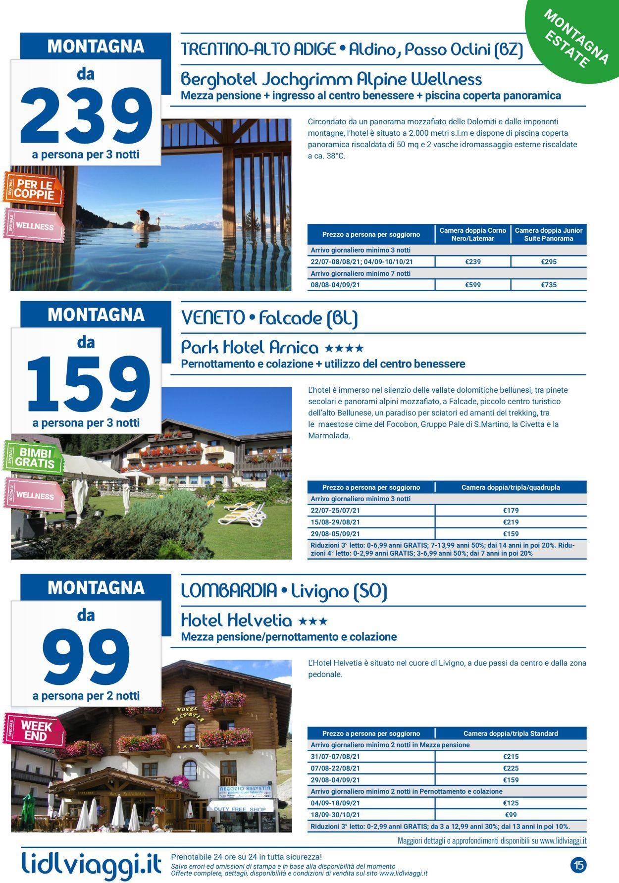 Volantino Lidl - Offerte 15/07-30/09/2021 (Pagina 15)