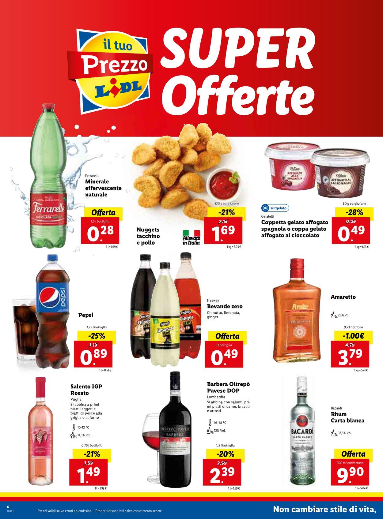 Volantino Lidl - Offerte 02/08-08/08/2021 (Pagina 6)