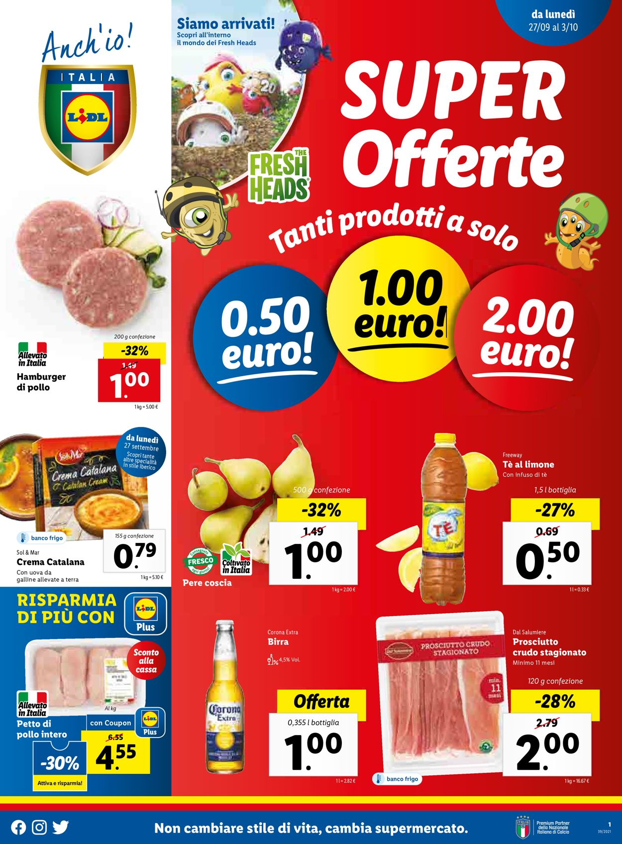 Volantino Lidl - Offerte 27/09-03/10/2021