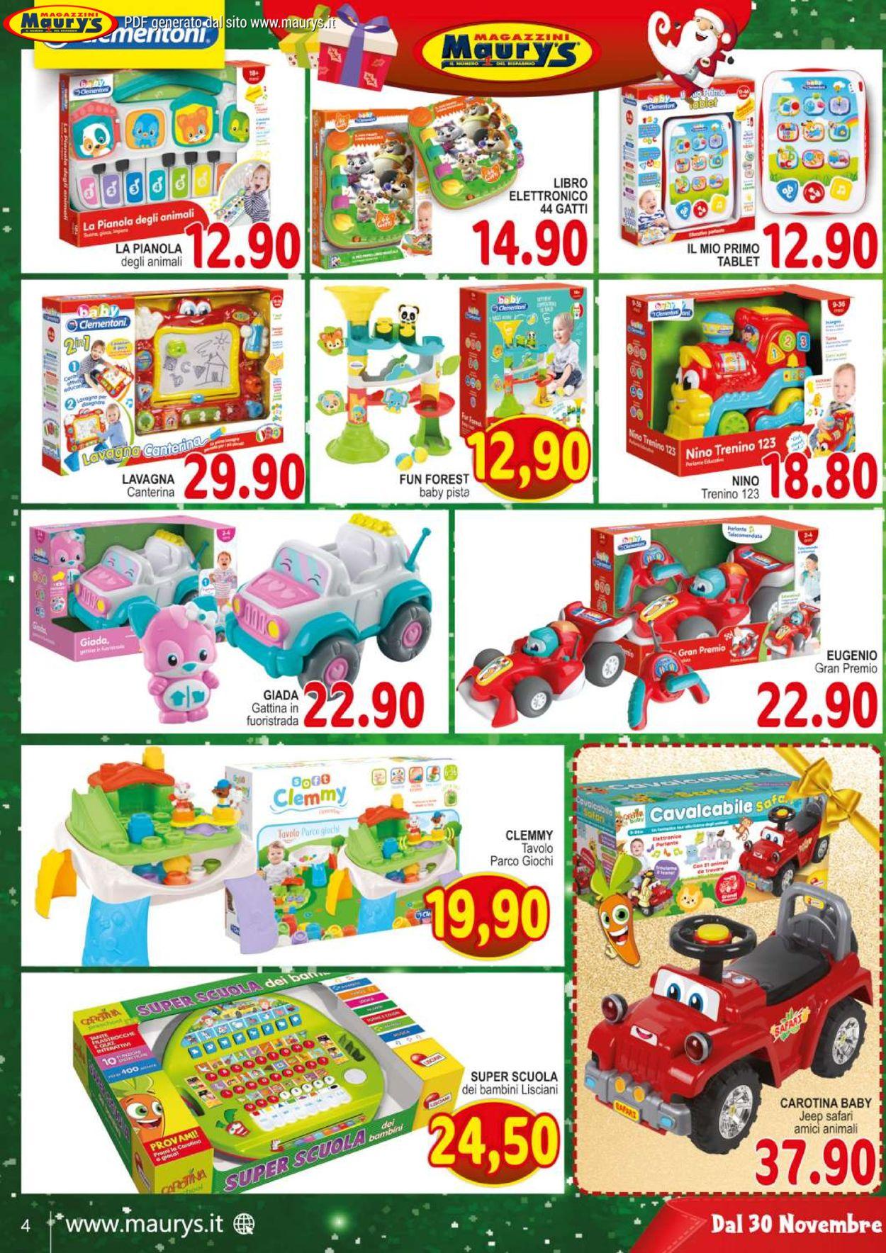 Volantino Maury'sIl volantino natalizio di - Offerte 30/11-24/12/2019 (Pagina 4)