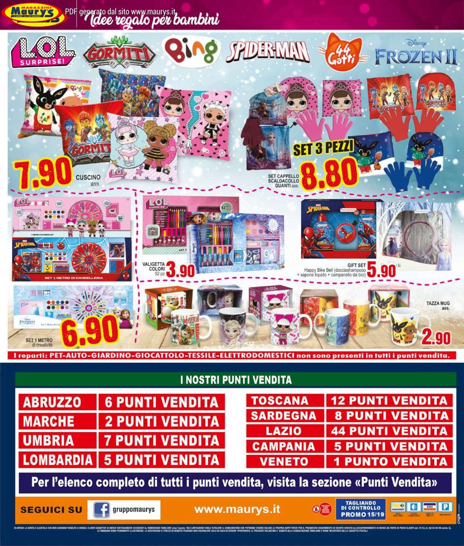Volantino Maury'sIl volantino natalizio di - Offerte 30/11-14/12/2019 (Pagina 24)