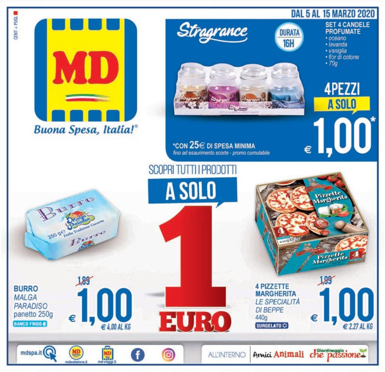 Volantino MD Discount - Offerte 05/03-15/03/2020