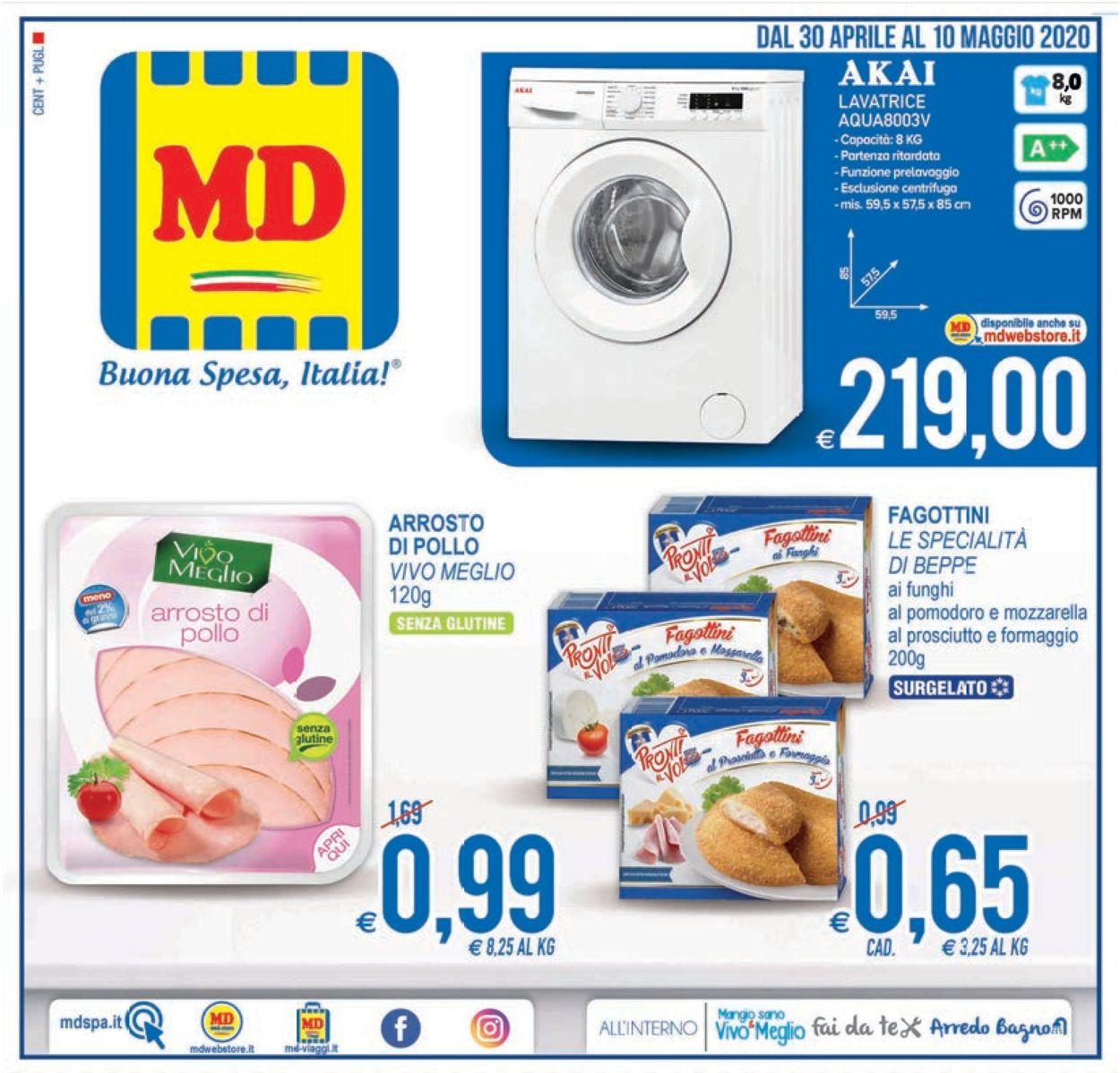 Volantino MD Discount - Offerte 30/04-10/05/2020
