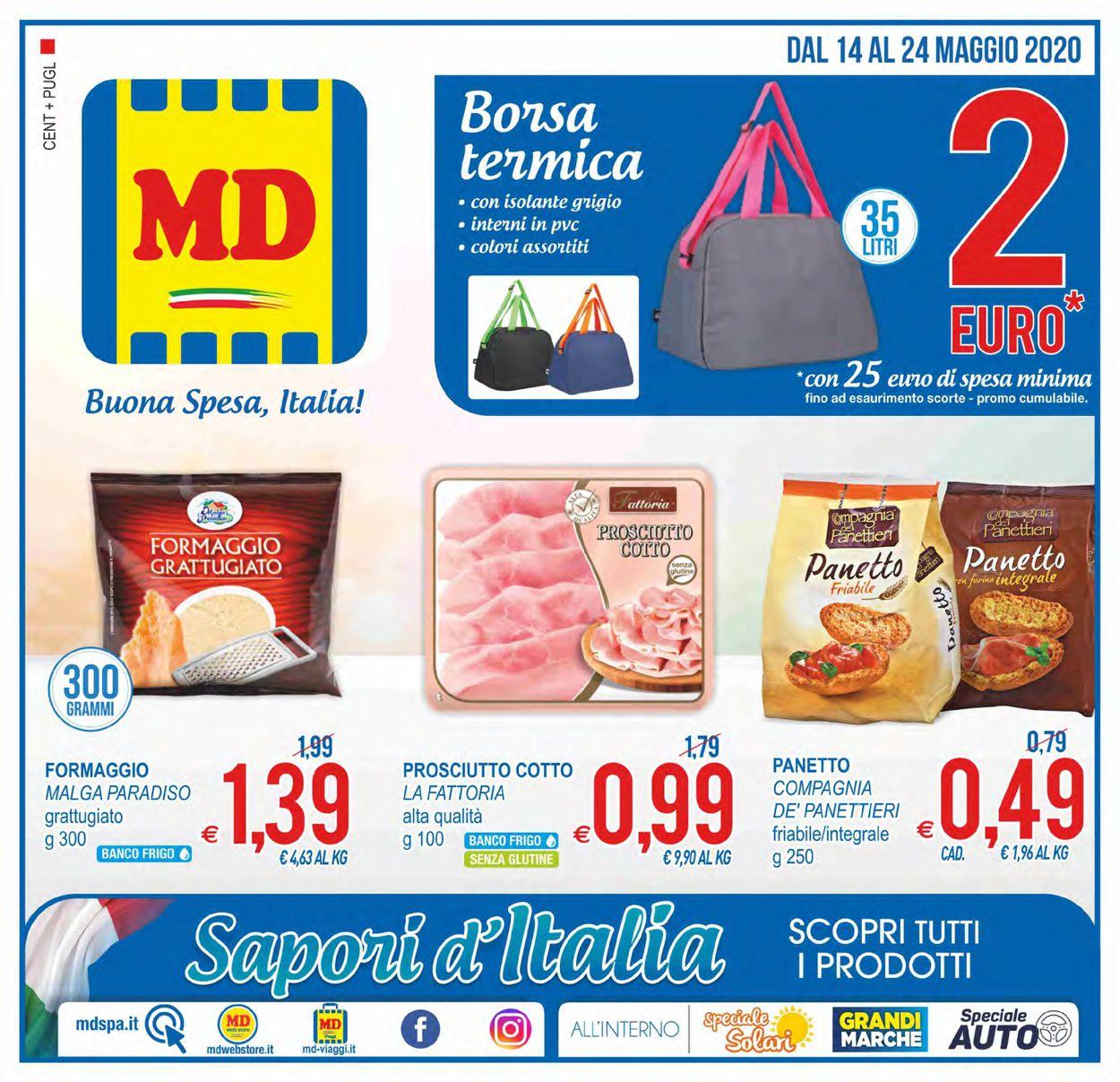 Volantino MD Discount - Offerte 14/05-24/05/2020