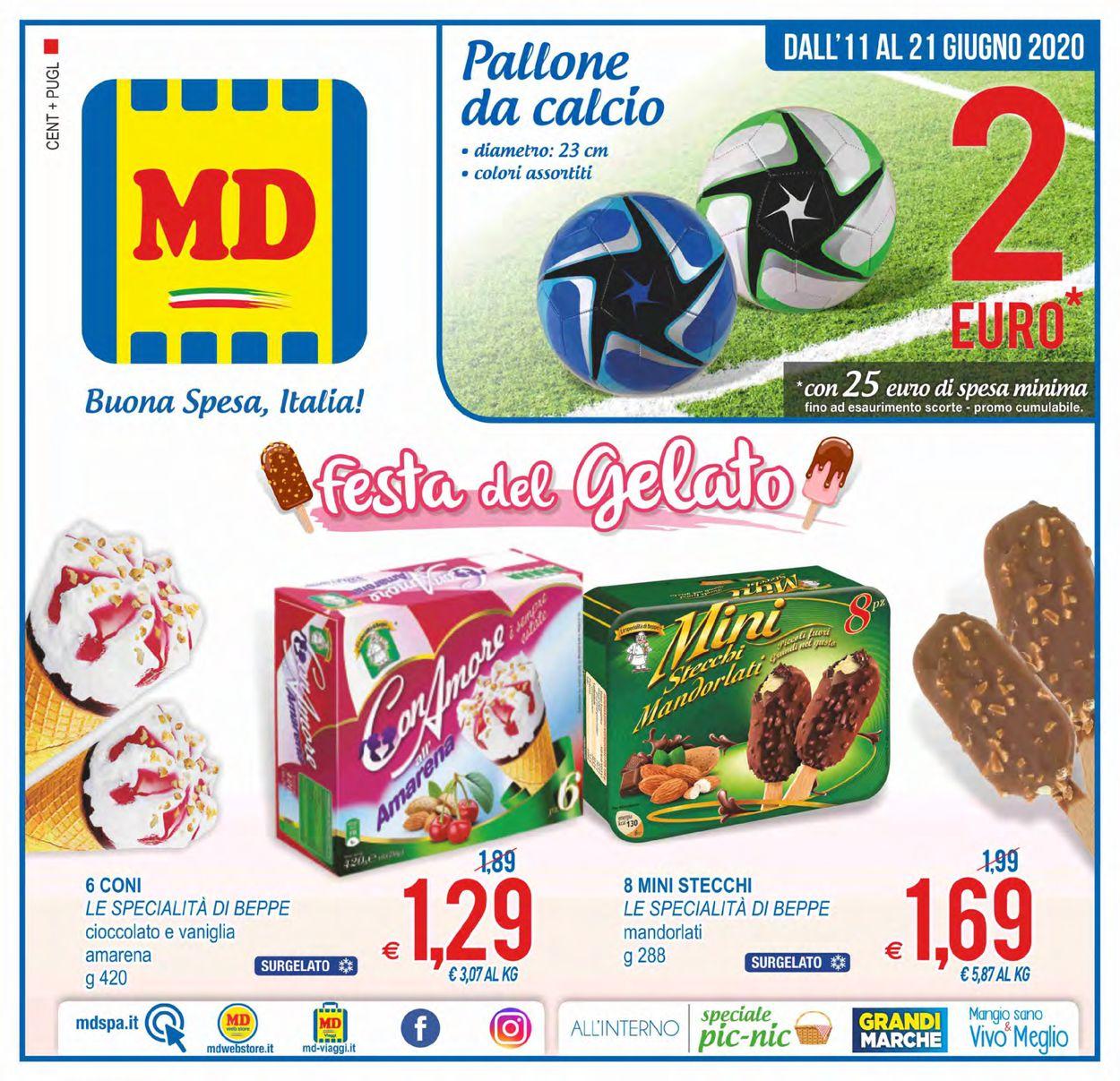 Volantino MD Discount - Offerte 11/06-21/06/2020