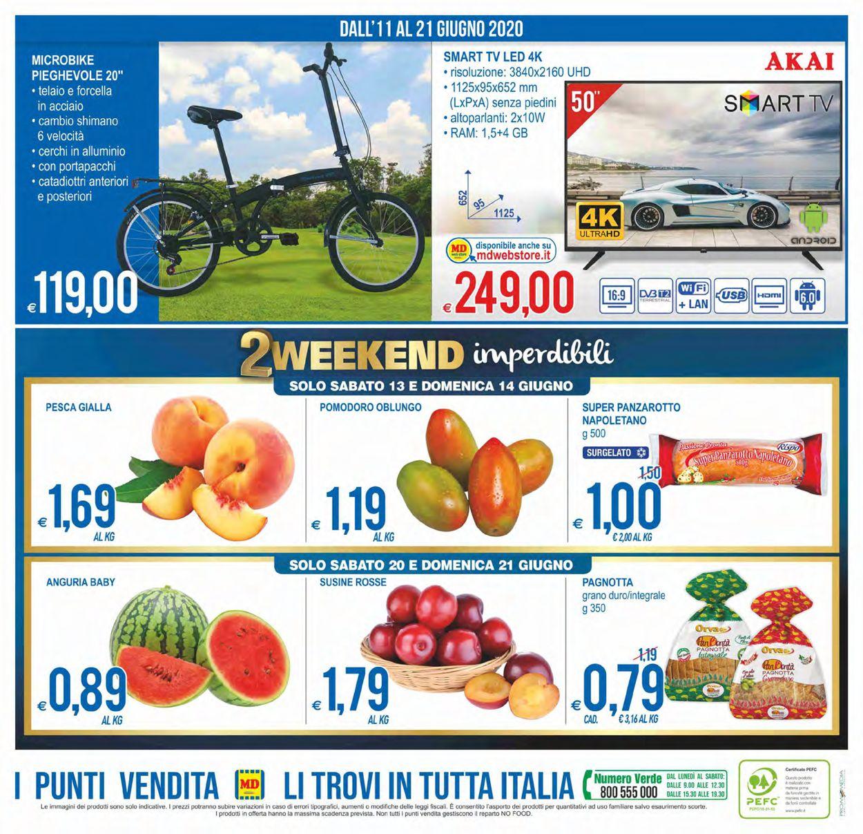 Volantino MD Discount - Offerte 11/06-21/06/2020 (Pagina 24)