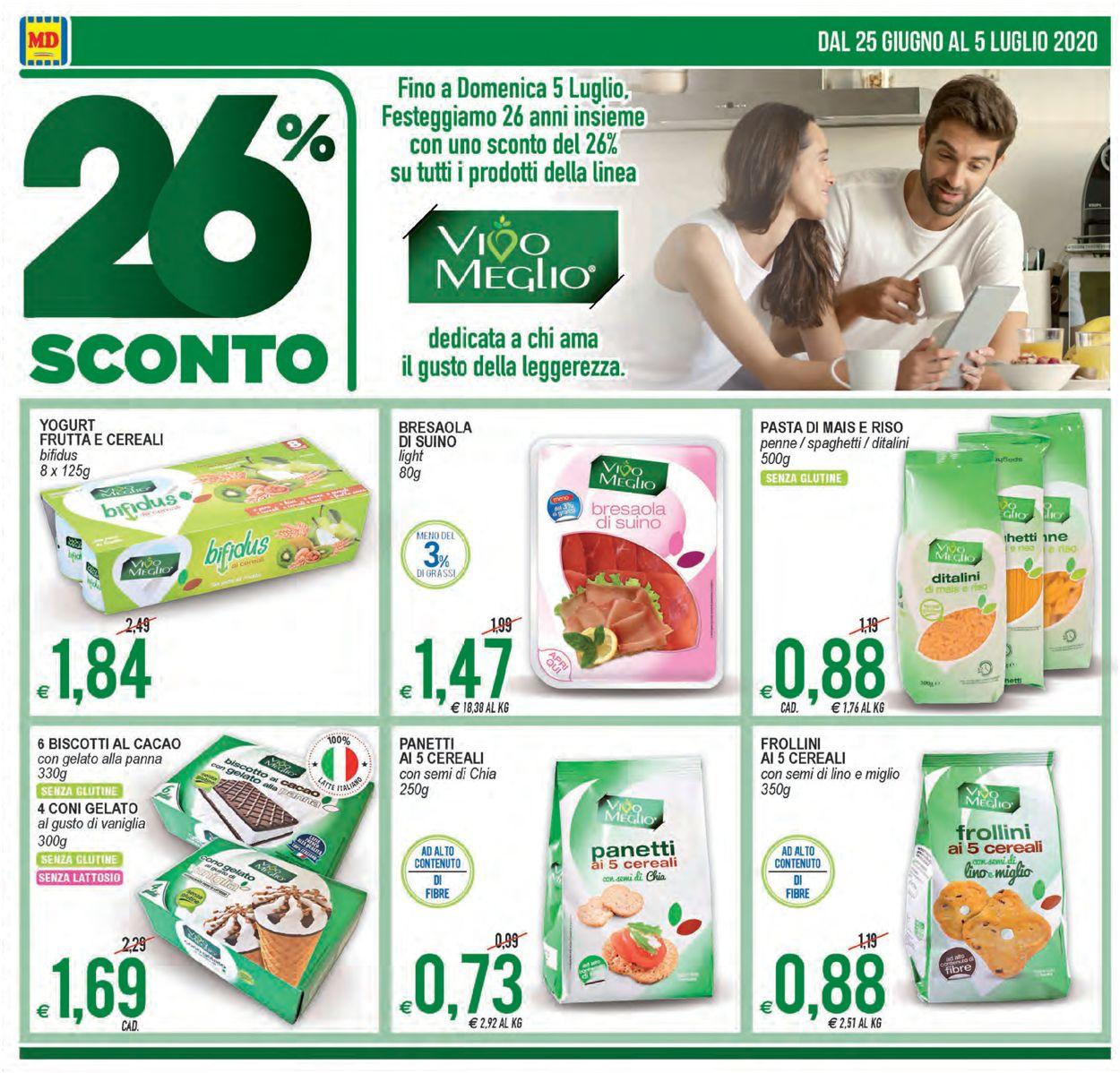 Volantino MD Discount - Offerte 25/06-05/07/2020 (Pagina 4)
