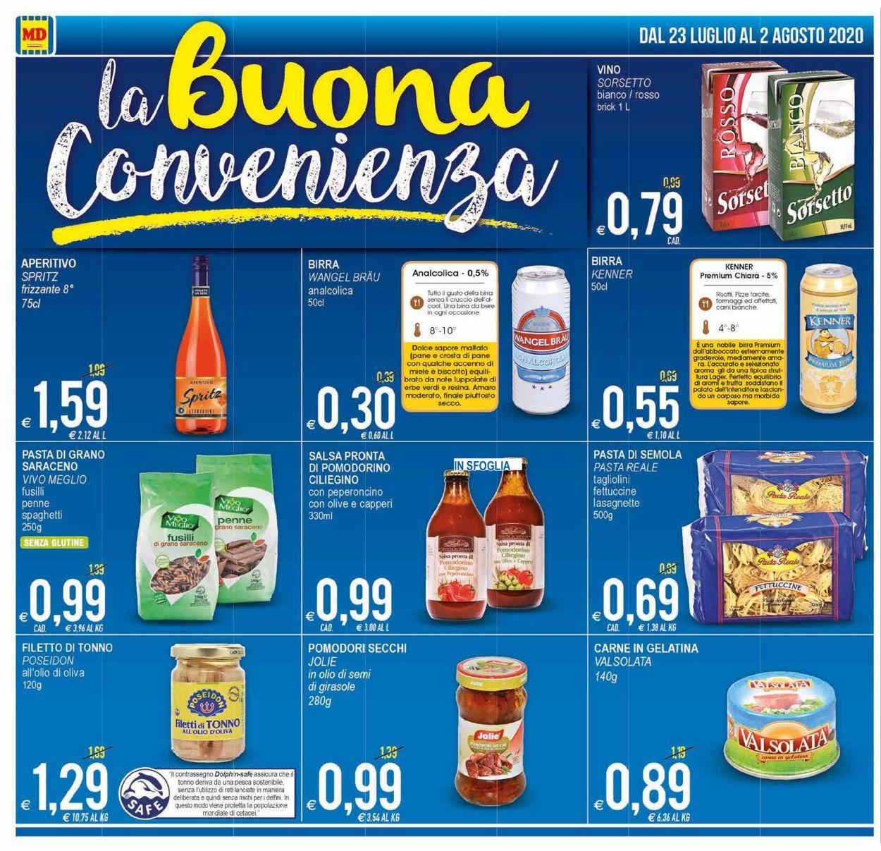 Volantino MD Discount - Offerte 23/07-02/08/2020 (Pagina 10)