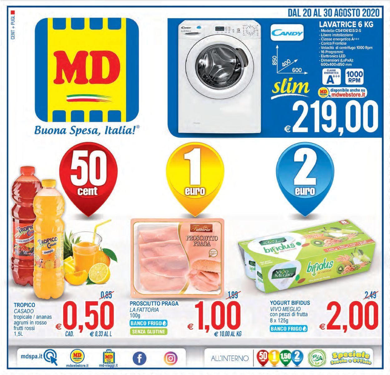 Volantino MD Discount - Offerte 20/08-30/08/2020