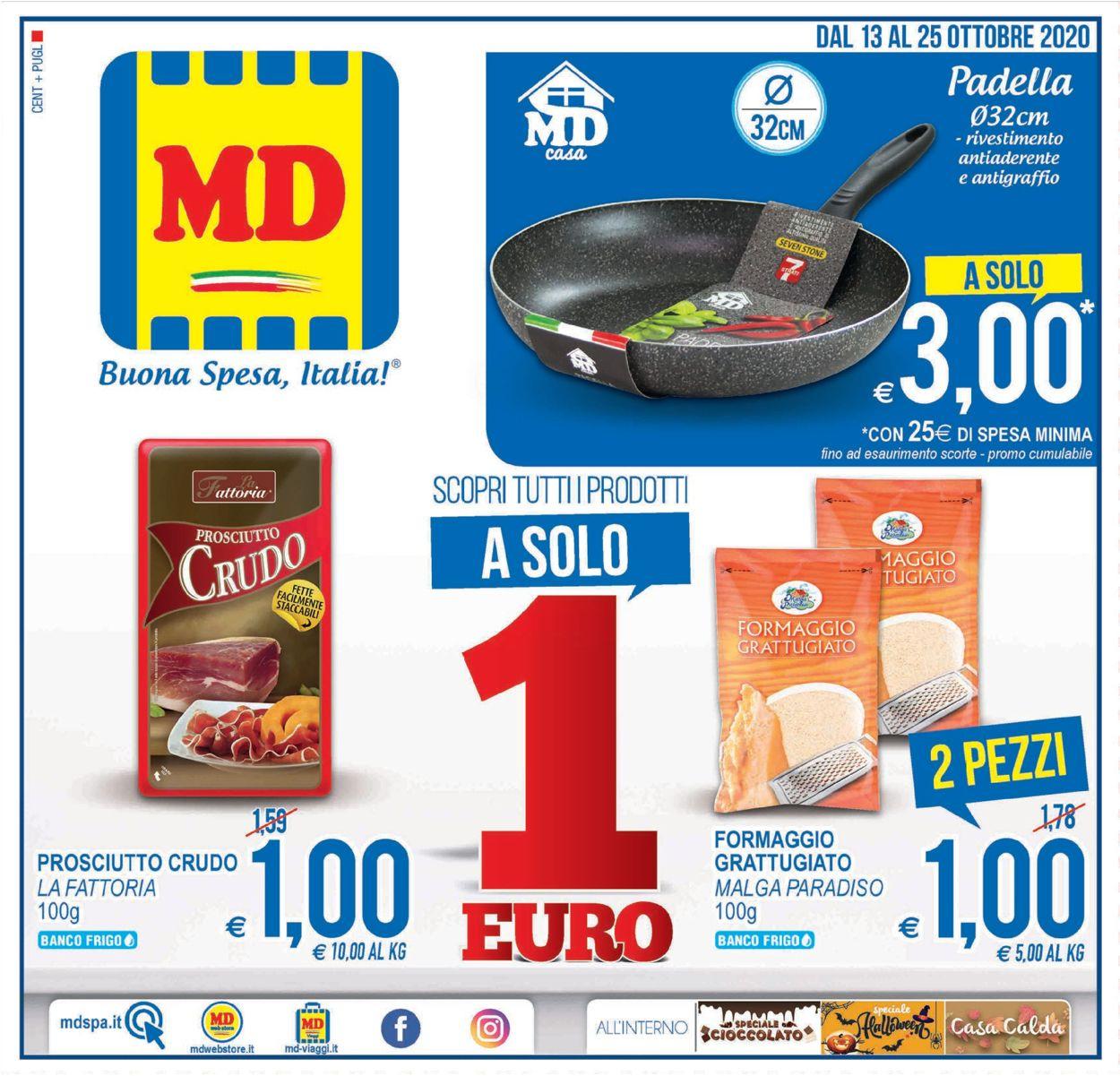 Volantino MD Discount - Offerte 13/10-25/10/2020