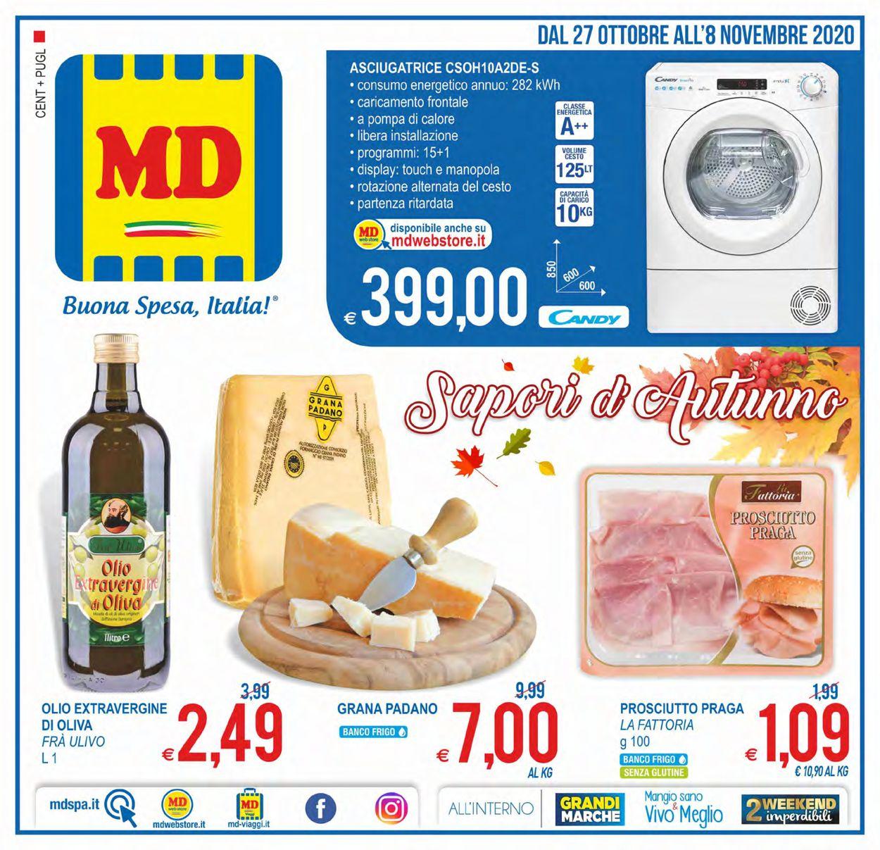 Volantino MD Discount - Offerte 27/10-08/11/2020