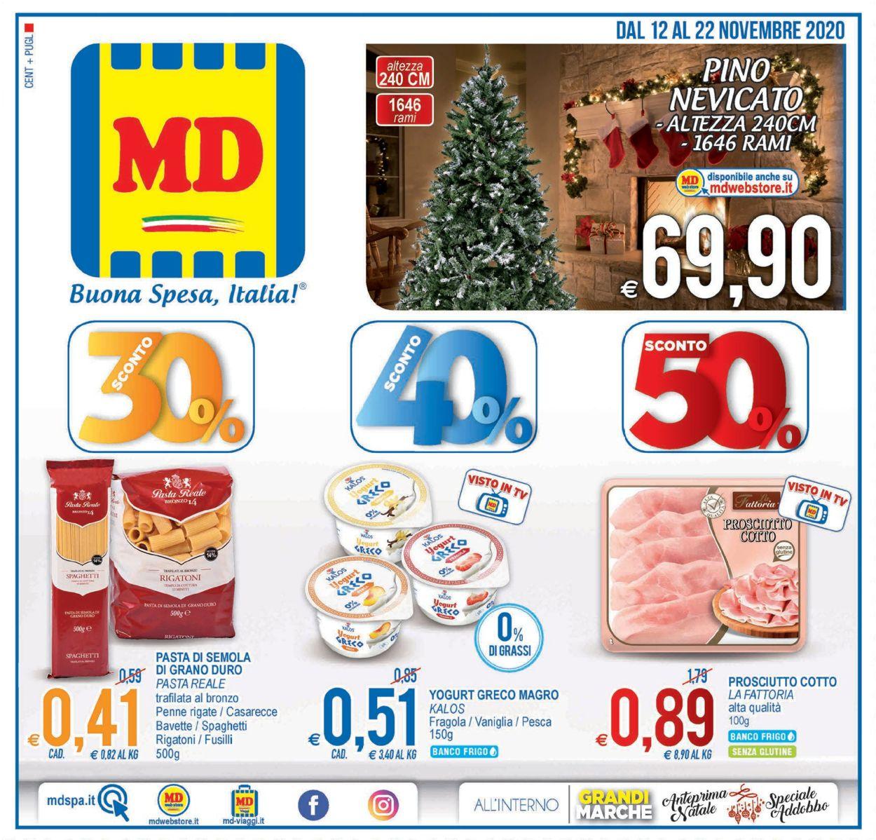 Volantino MD Discount - Offerte 12/11-22/11/2020