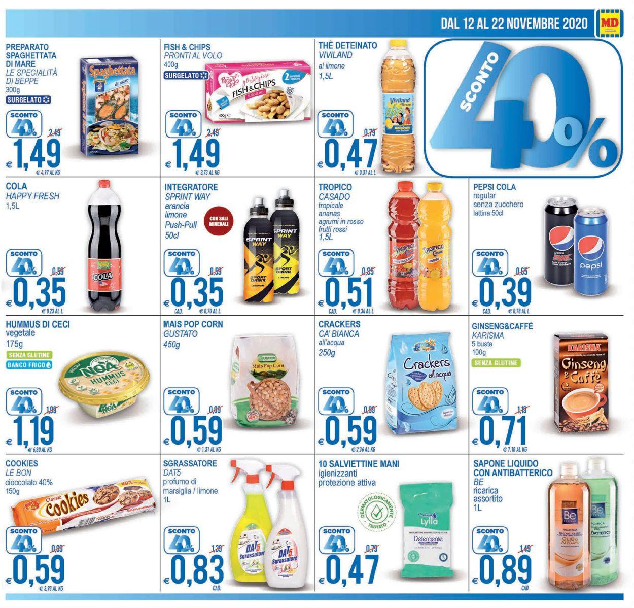 Volantino MD Discount - Offerte 12/11-22/11/2020 (Pagina 3)