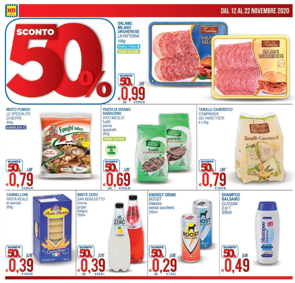 Volantino MD Discount - Offerte 12/11-22/11/2020 (Pagina 4)