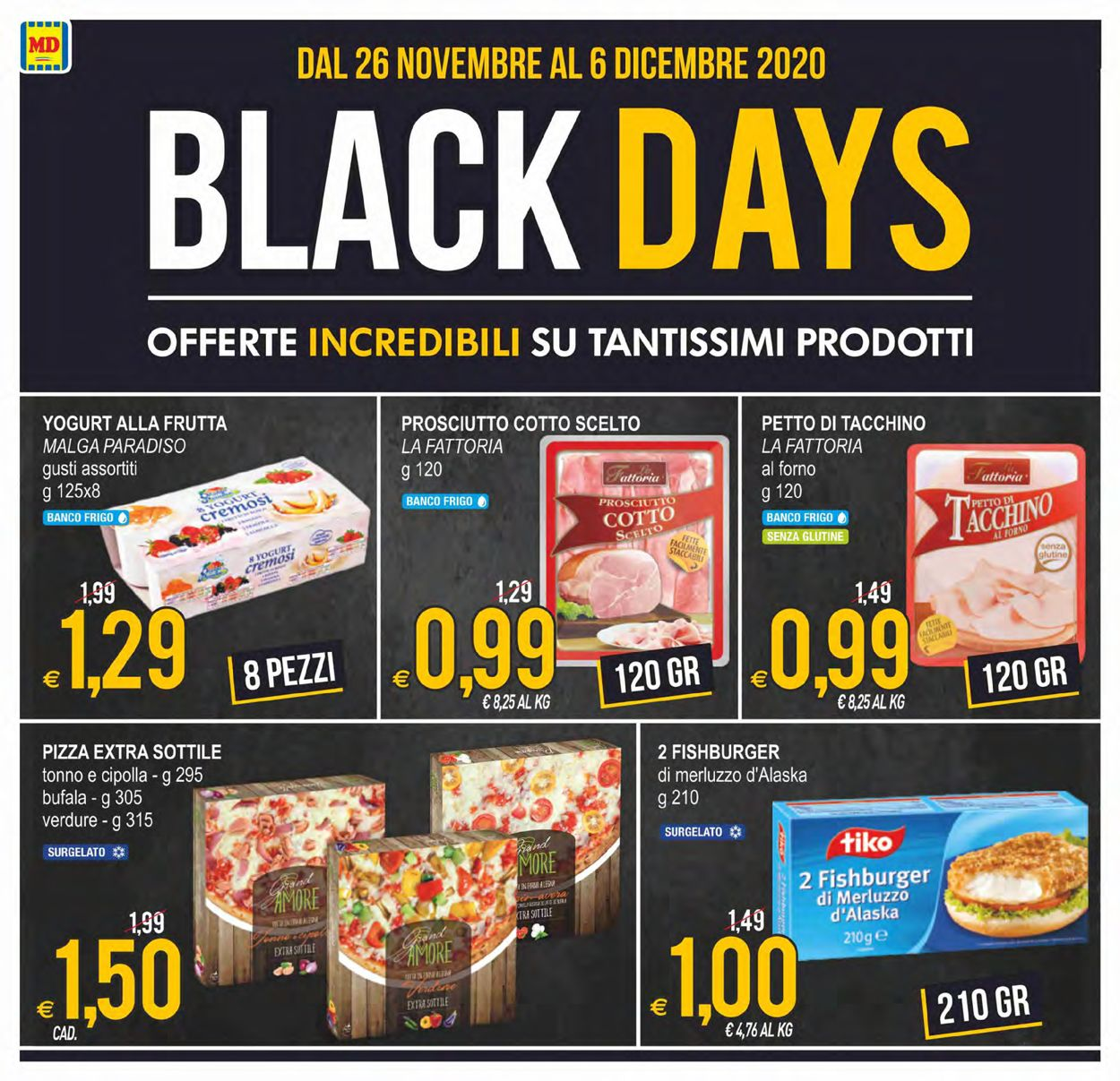 Volantino MD Discount - Black Friday 2020 - Offerte 26/11-06/12/2020 (Pagina 2)