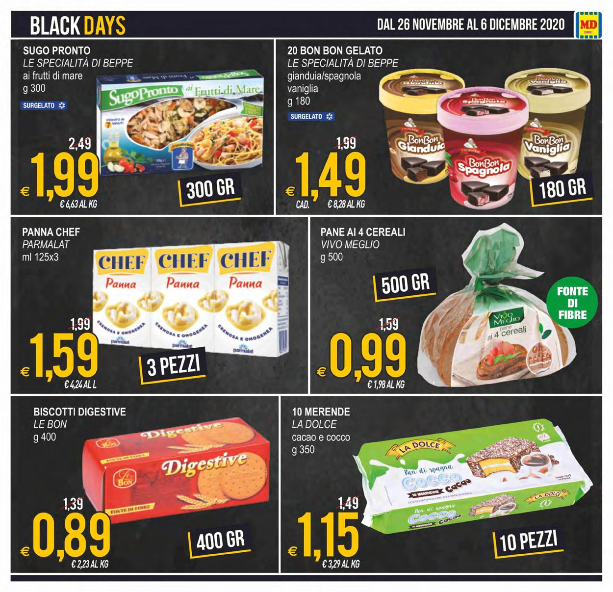 Volantino MD Discount - Black Friday 2020 - Offerte 26/11-06/12/2020 (Pagina 3)